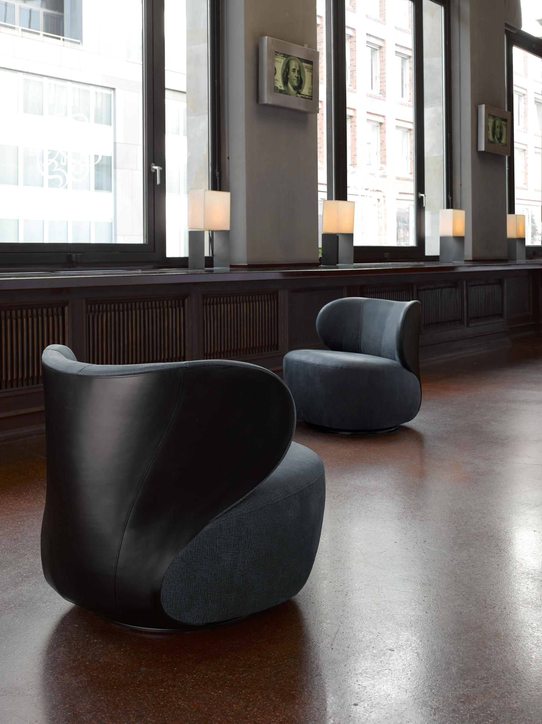 Ohrenbacken Sofa bao armchair lounge chairs from walter k architonic