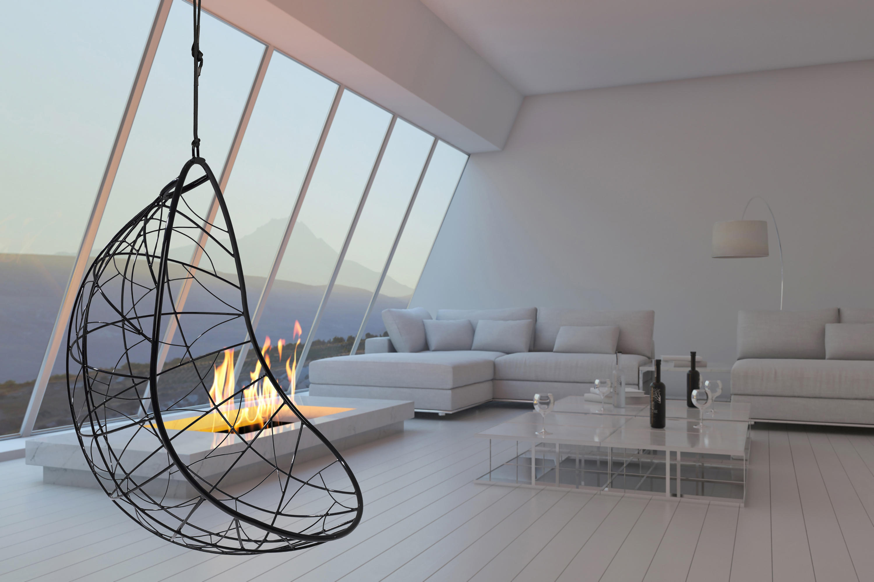... Nest Egg Hanging Swing Chair By Studio Stirling ...