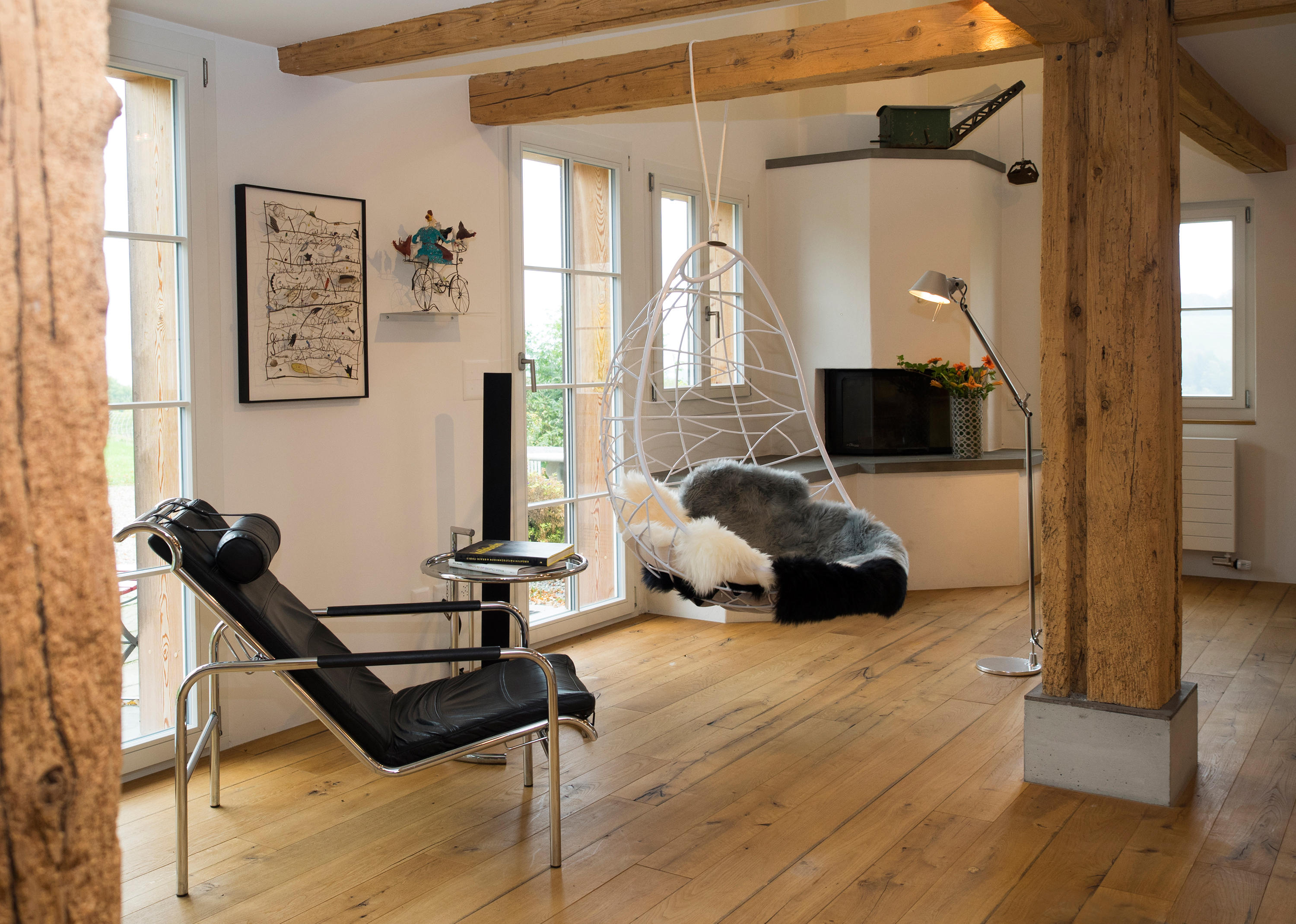NEST EGG HANGING SWING CHAIR - Swings from Studio Stirling ...