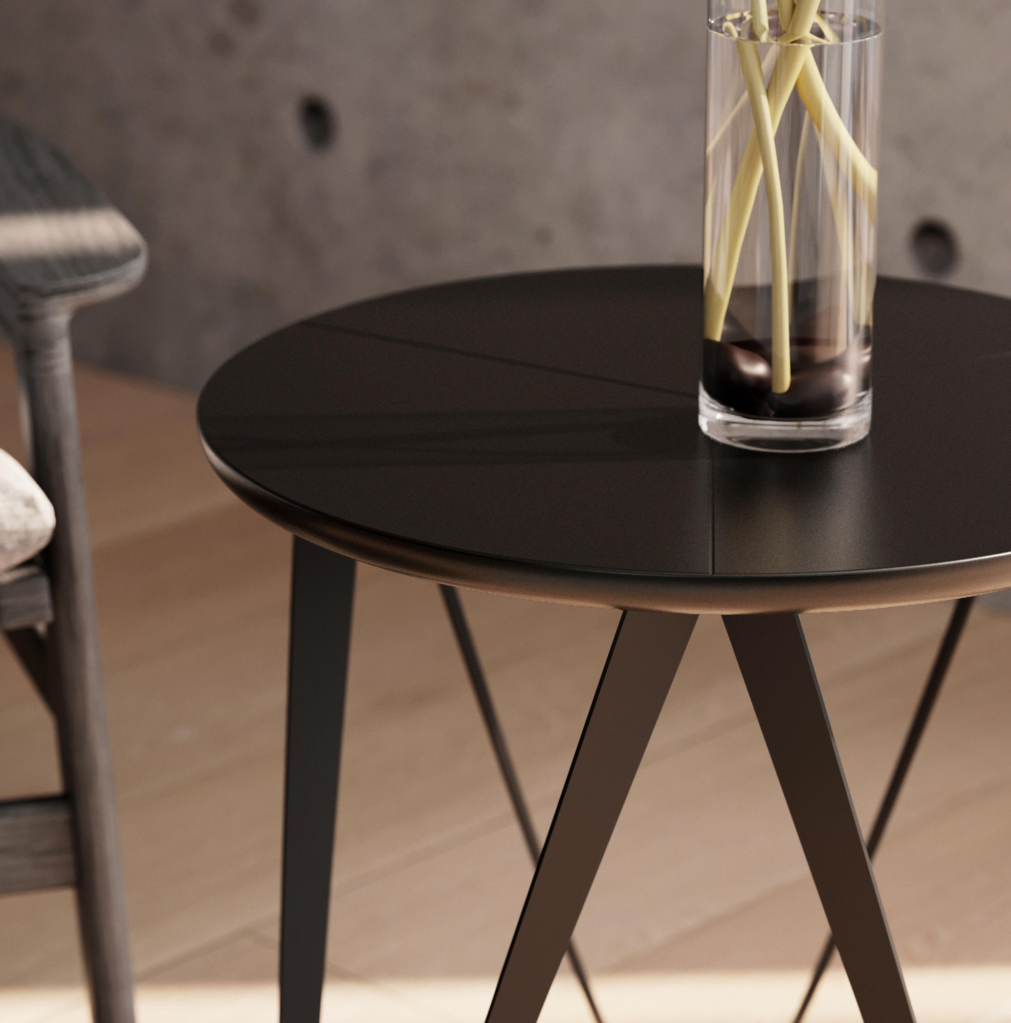Chronos Coffee Table - Solid Wood American Walnut By Joval