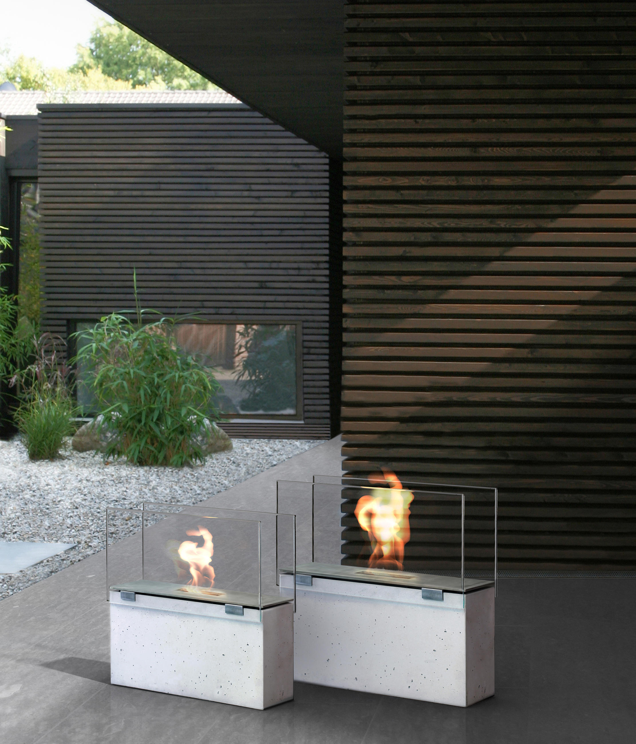 muro ventless ethanol fires from conmoto architonic. Black Bedroom Furniture Sets. Home Design Ideas