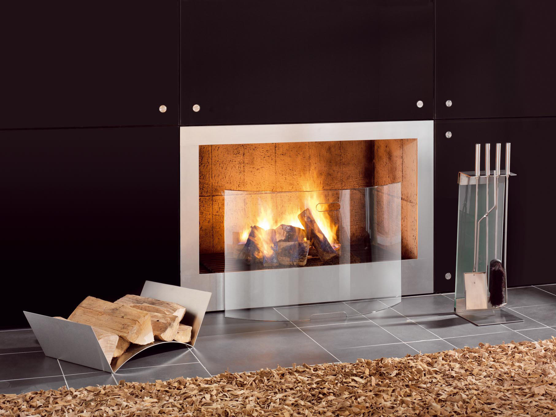 peter maly fireplace tool set fire tools from conmoto. Black Bedroom Furniture Sets. Home Design Ideas