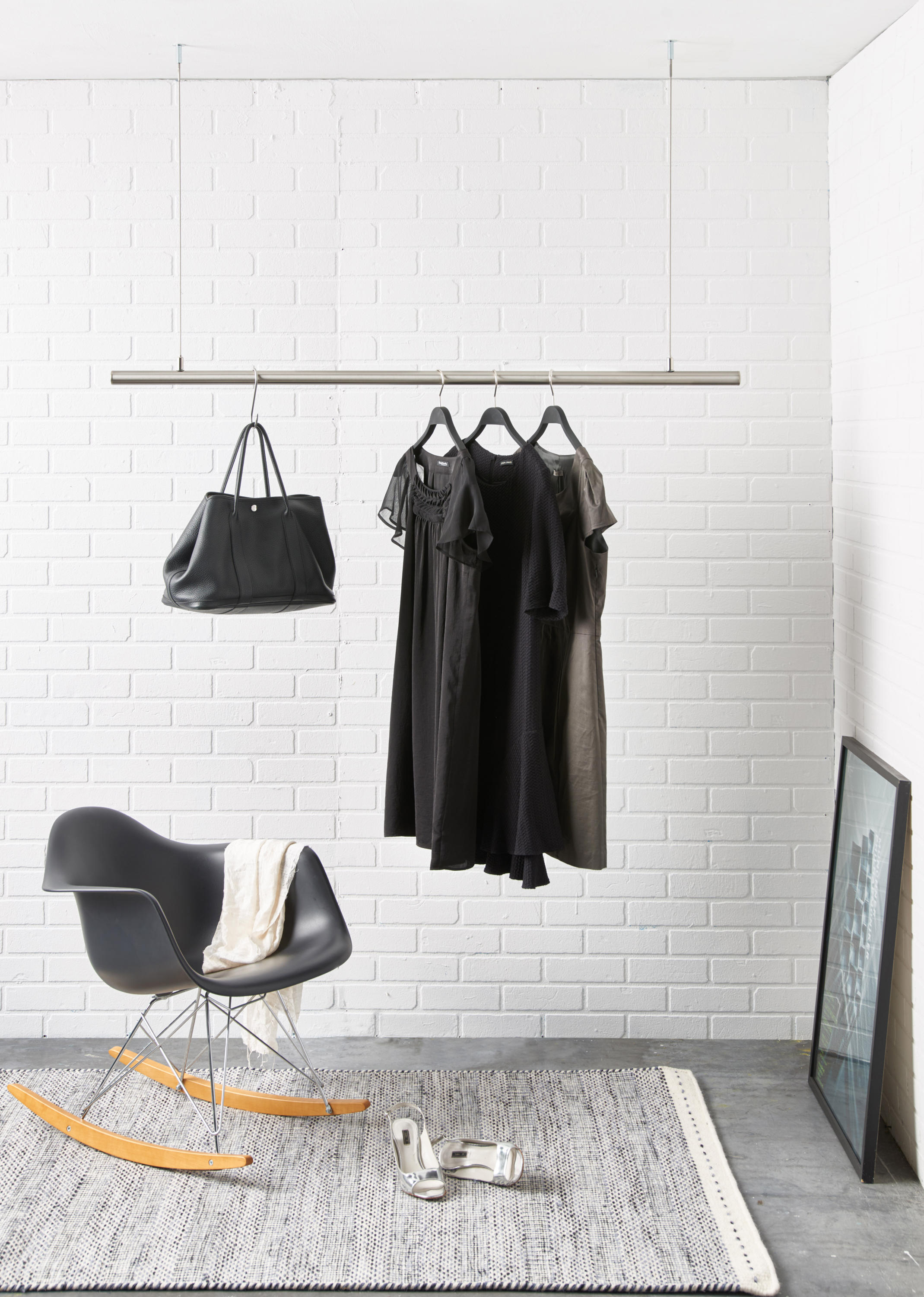 Brand new AIRJUST® SOLO - Ceiling mounted coat racks from RaumForm33  IW66