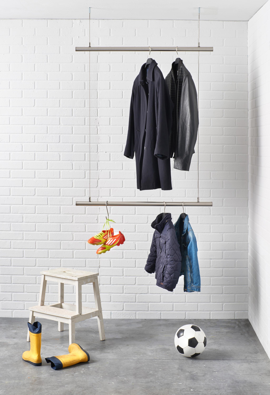 Kleiderstange Deckenmontage airjust hängegarderoben raumform33 architonic
