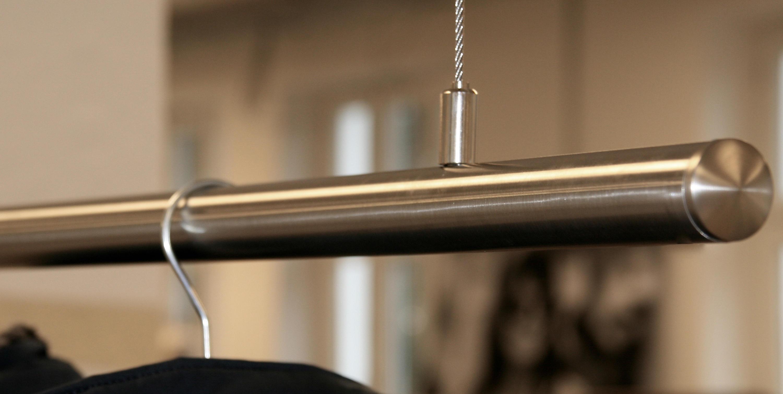 Kleiderstange Deckenmontage airjust retail p hängegarderoben raumform33 architonic