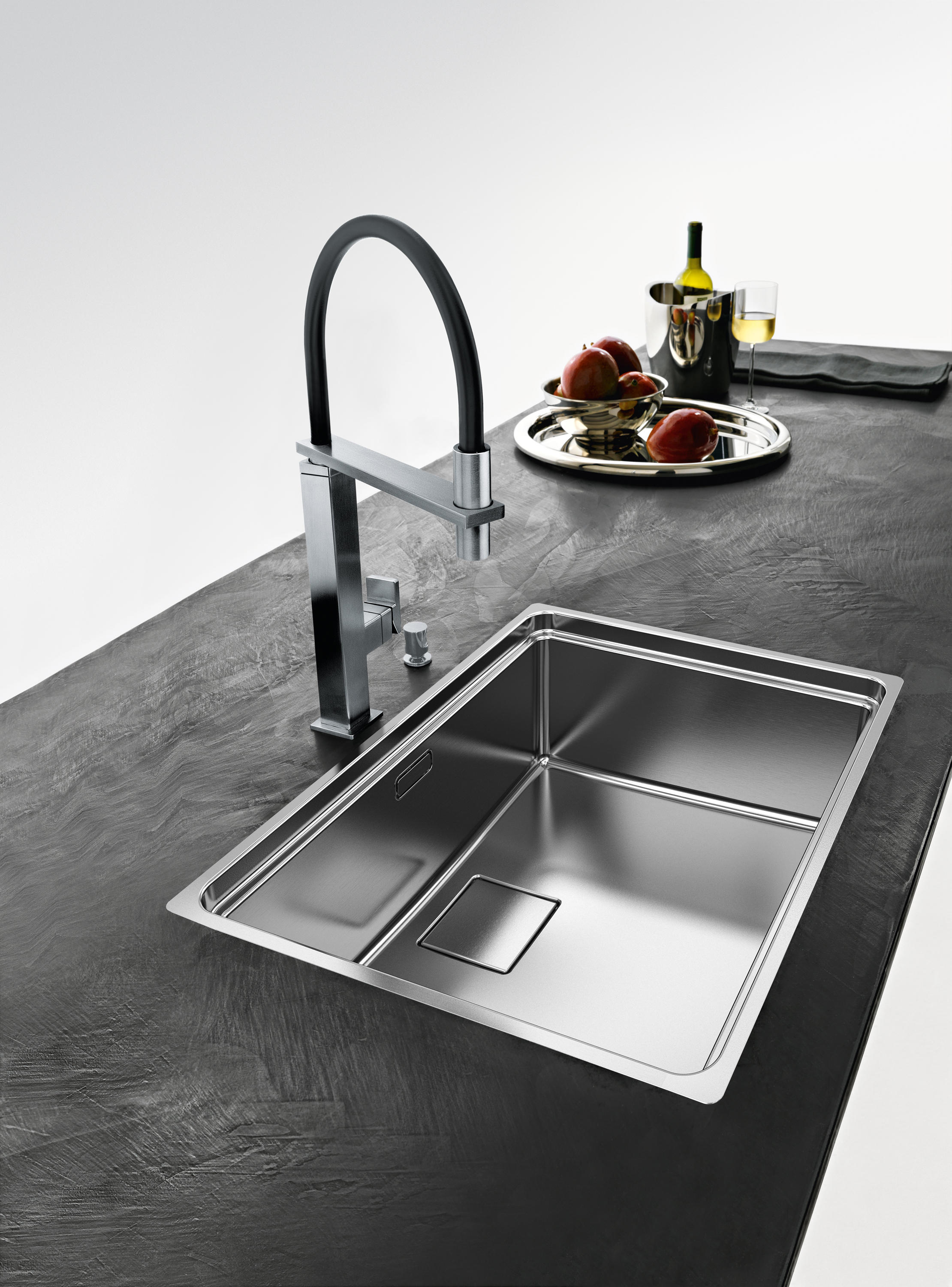 CENTINOX SINK CMX 210-50 STAINLESS STEEL