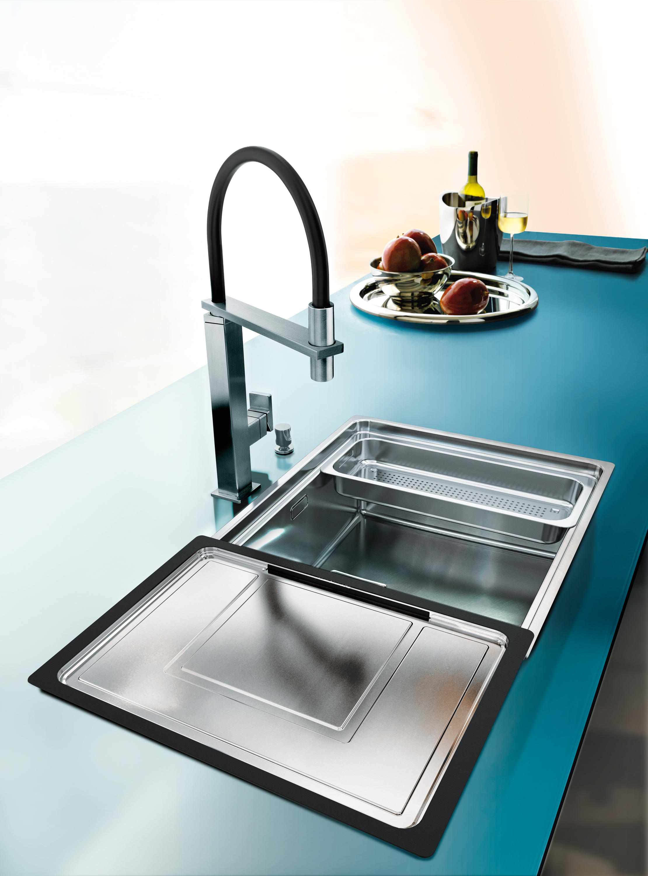 Centinox sink cmx 210 50 stainless steel kitchen sinks for Franke küchen