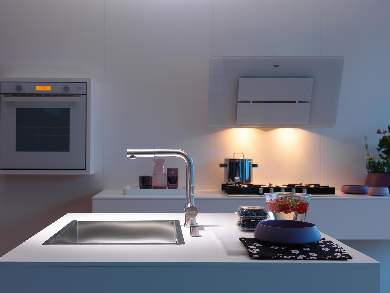 ATLAS ZUGAUSLAUF EDELSTAHL Küchenarmaturen von Franke Kitchen