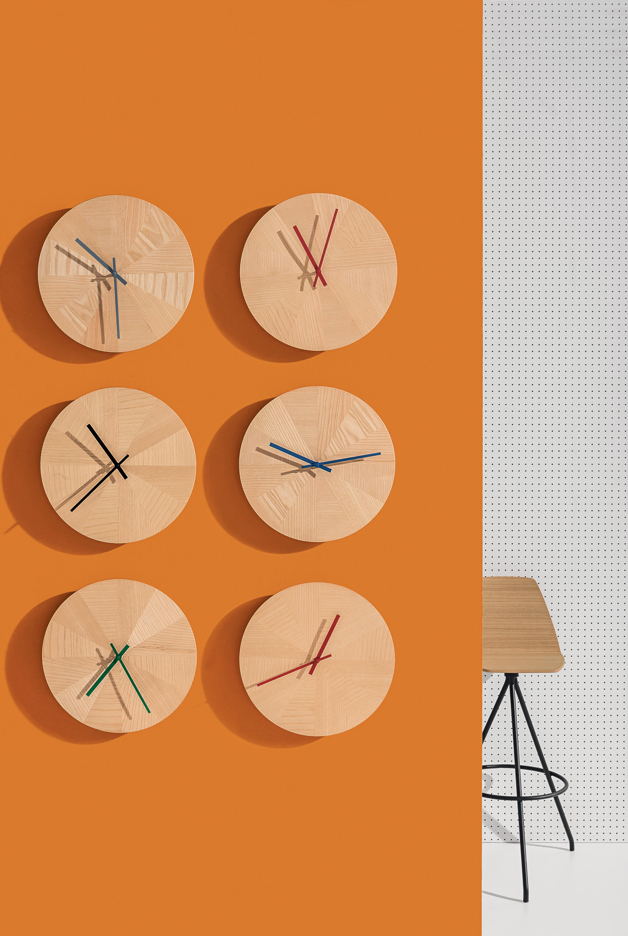 Pieces Of Time Clocks From Discipline Architonic