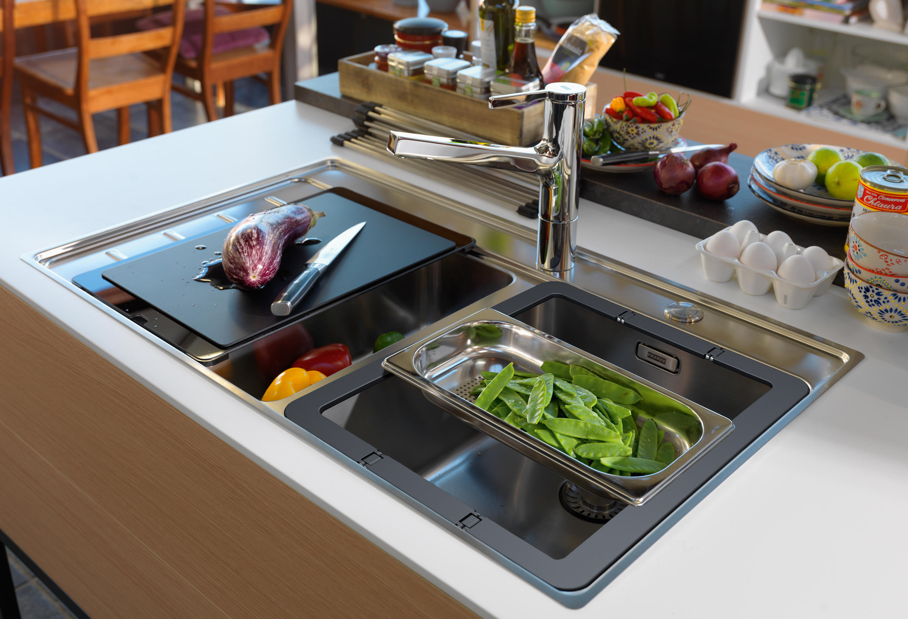 BY FRANKE SINK FSX 221 TPL STAINLESS STEEL - Kitchen sinks from Franke ...