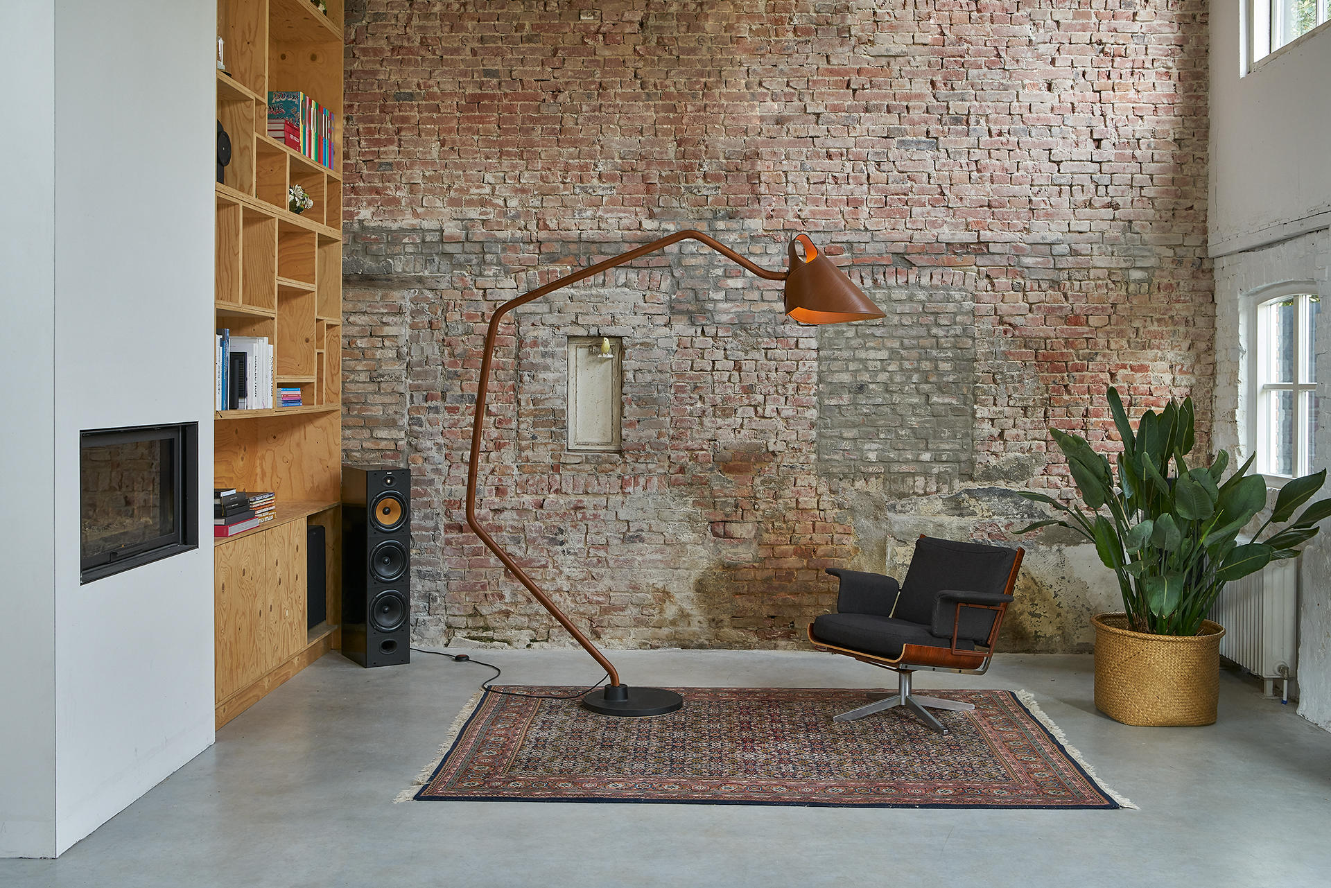 Mrs q floor lamp general lighting from jacco maris architonic mrs q floor lamp by jacco maris aloadofball Choice Image