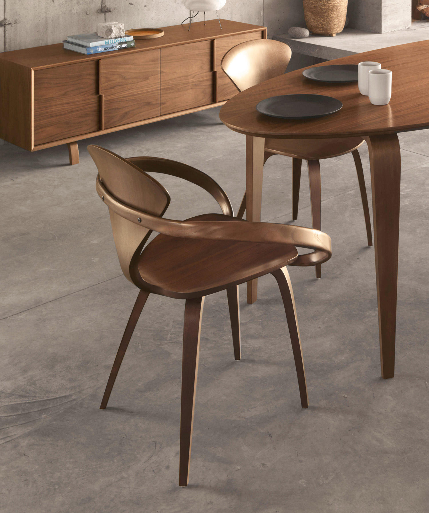 CHERNER ARMCHAIR - Restaurant chairs from Cherner | Architonic