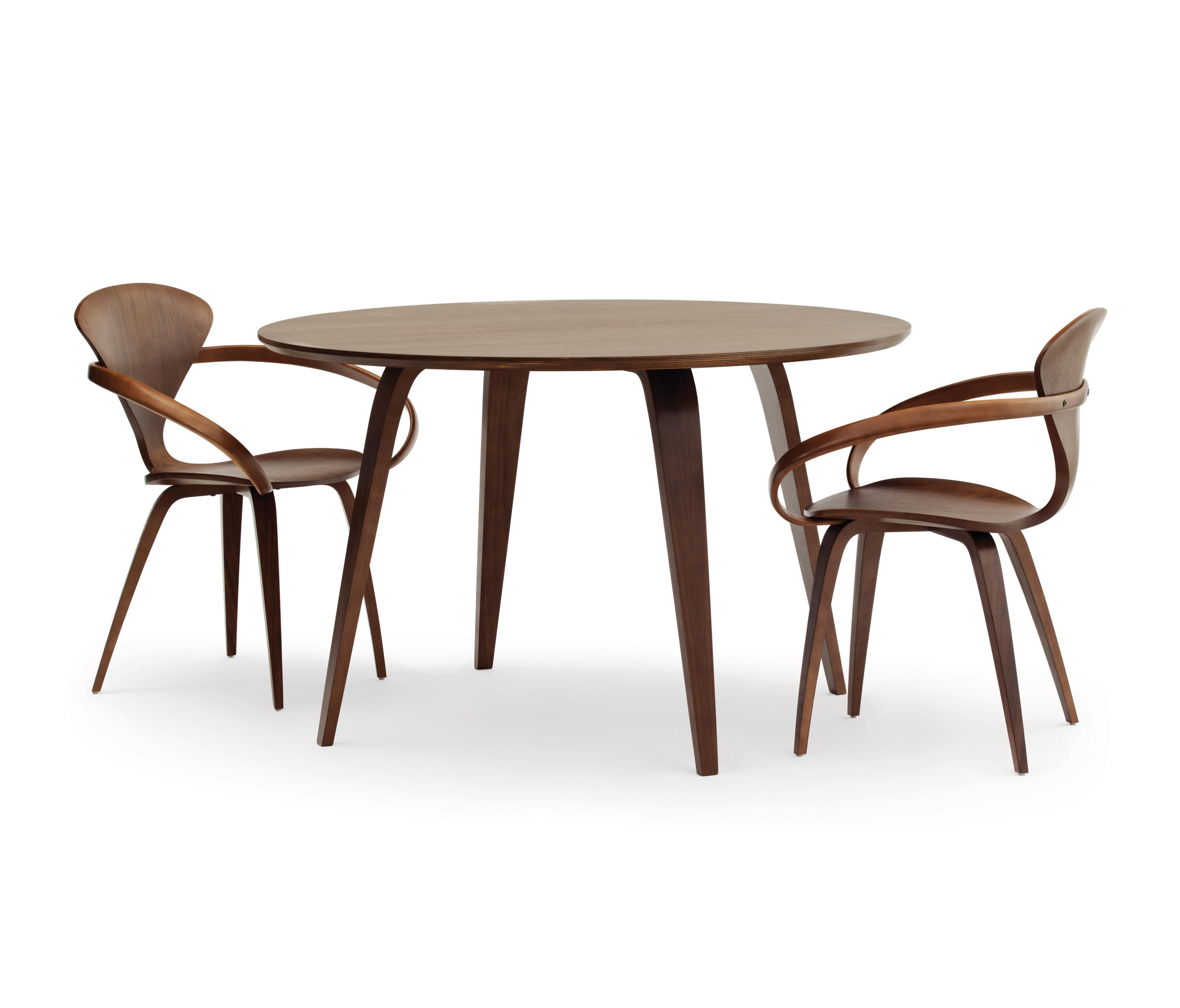 CHERNER ROUND TABLE Dining Tables From Cherner Architonic - Cherner dining table
