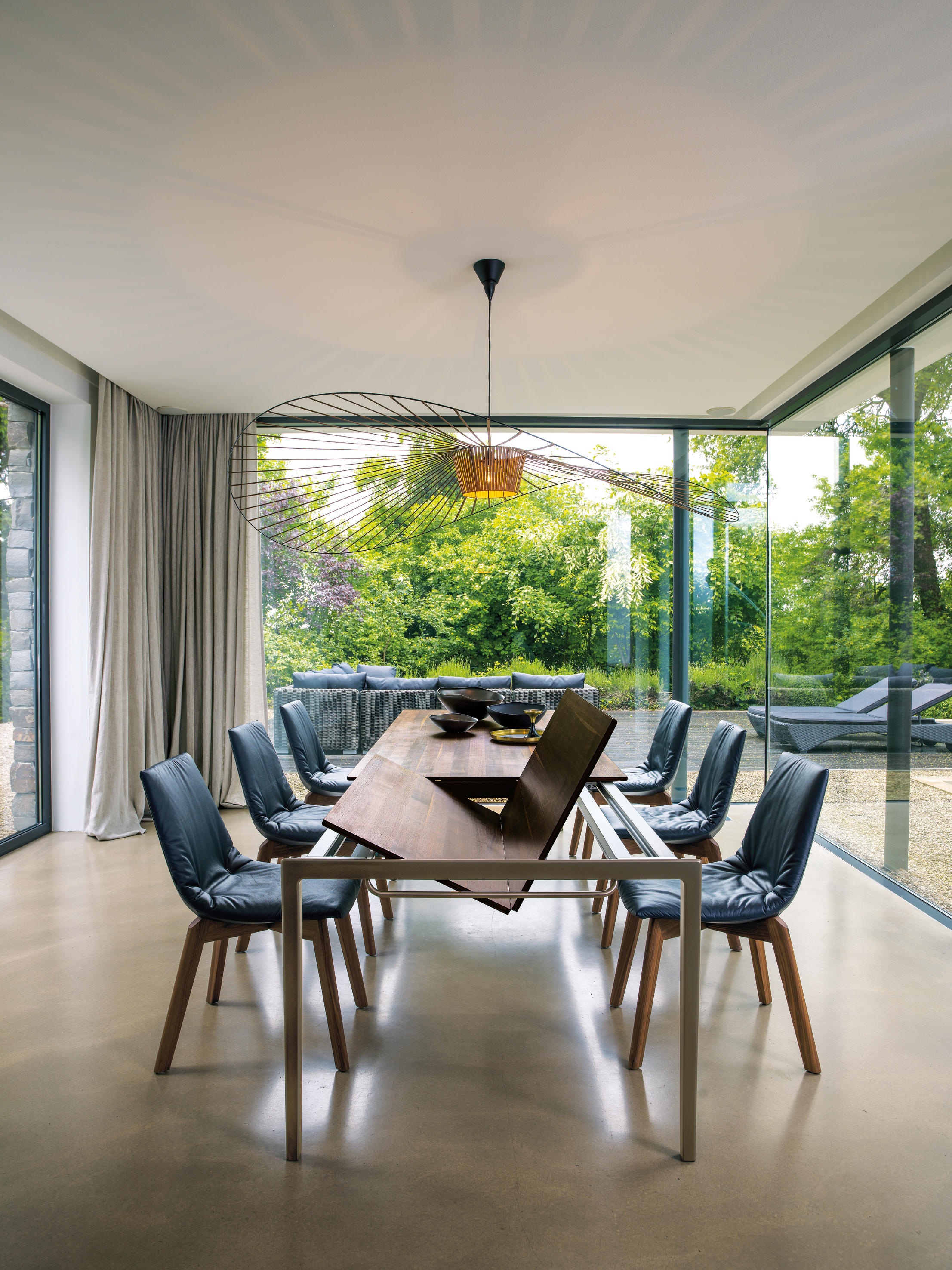 tak auszugstisch esstische von team 7 architonic. Black Bedroom Furniture Sets. Home Design Ideas