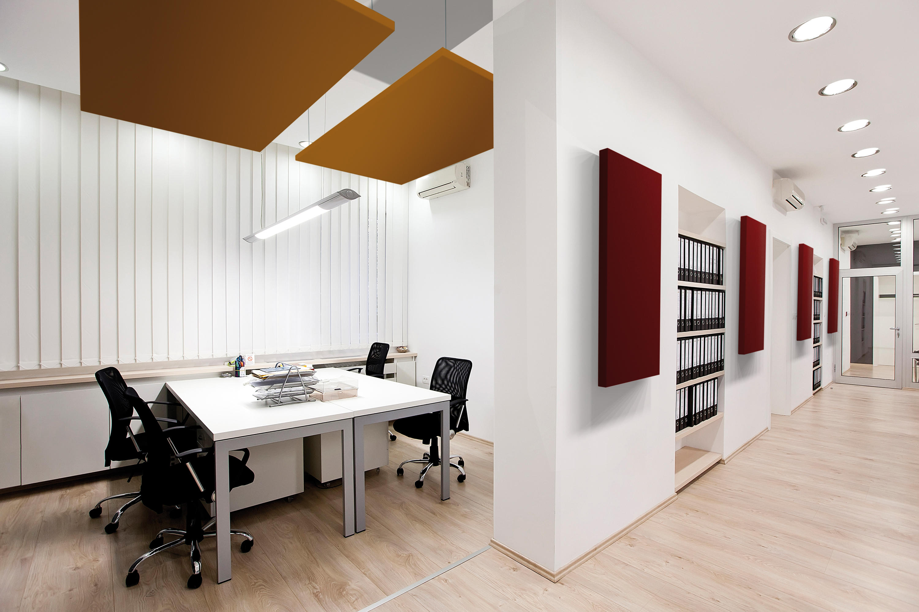 HANGING SILENTE - Suspended ceilings from Caruso Acoustic by Lamm ...