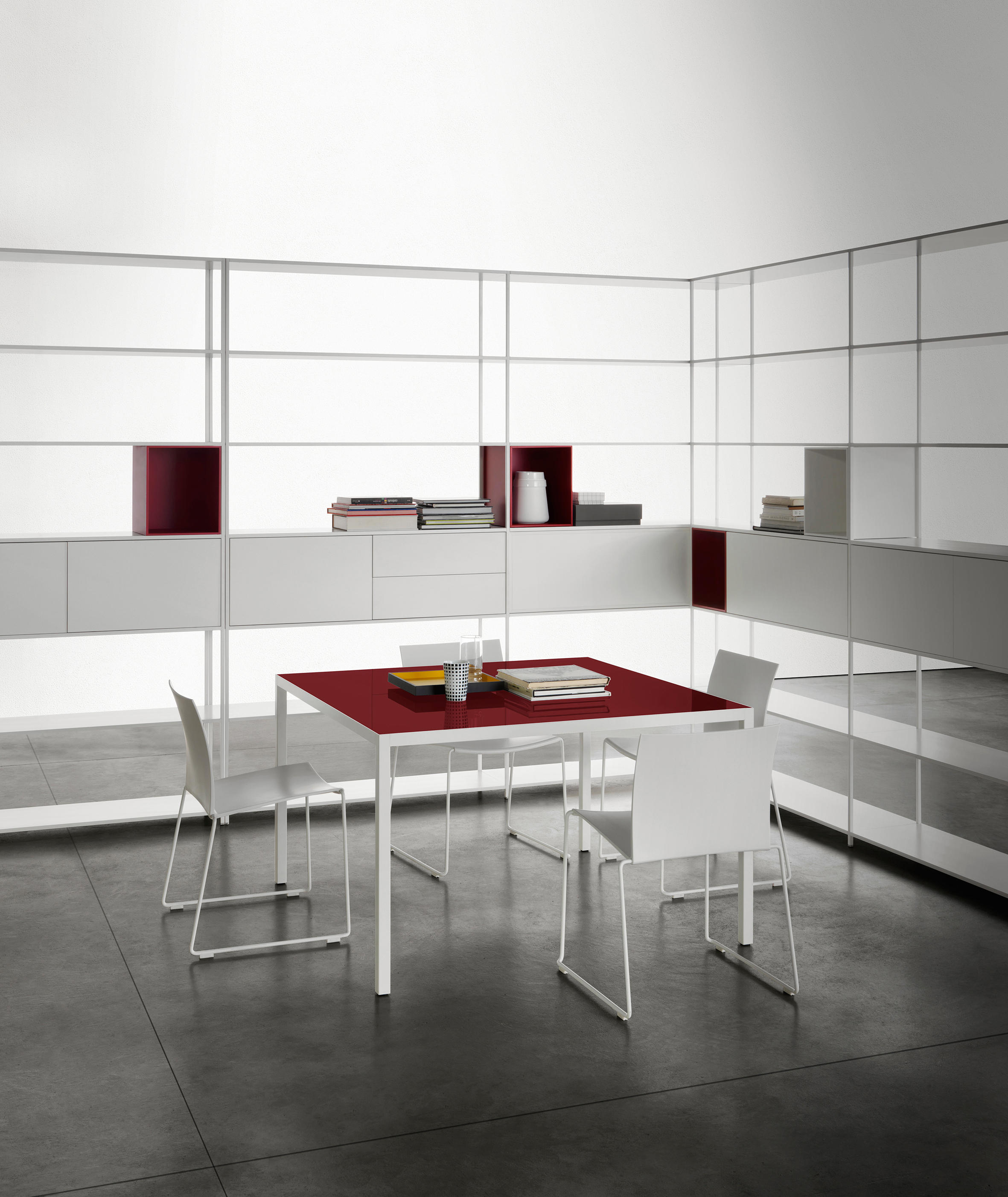 minima 4 2 shelving systems from mdf italia architonic. Black Bedroom Furniture Sets. Home Design Ideas