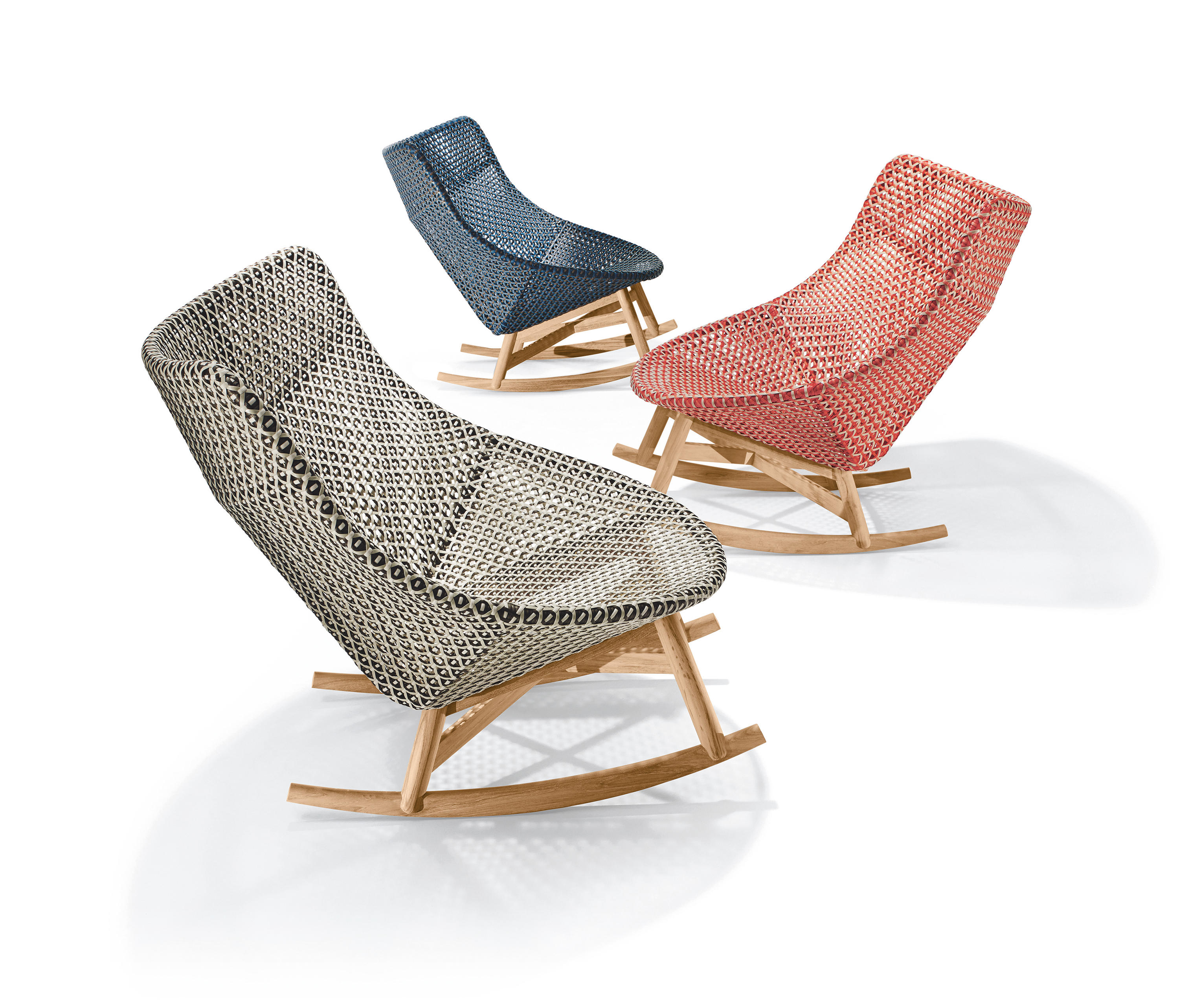 MBRACE ROCKING CHAIR Garden armchairs from DEDON
