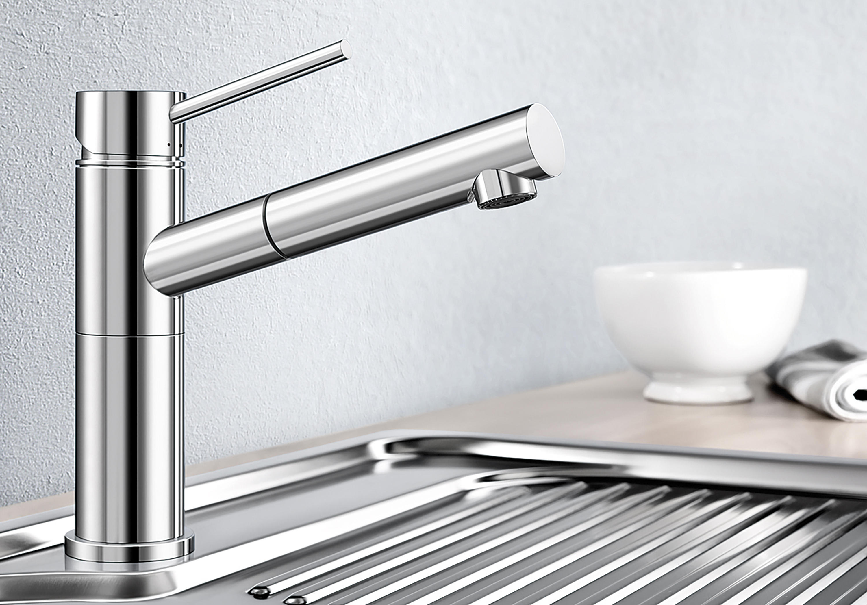 blanco alta chrome kitchen taps from blanco architonic. Black Bedroom Furniture Sets. Home Design Ideas