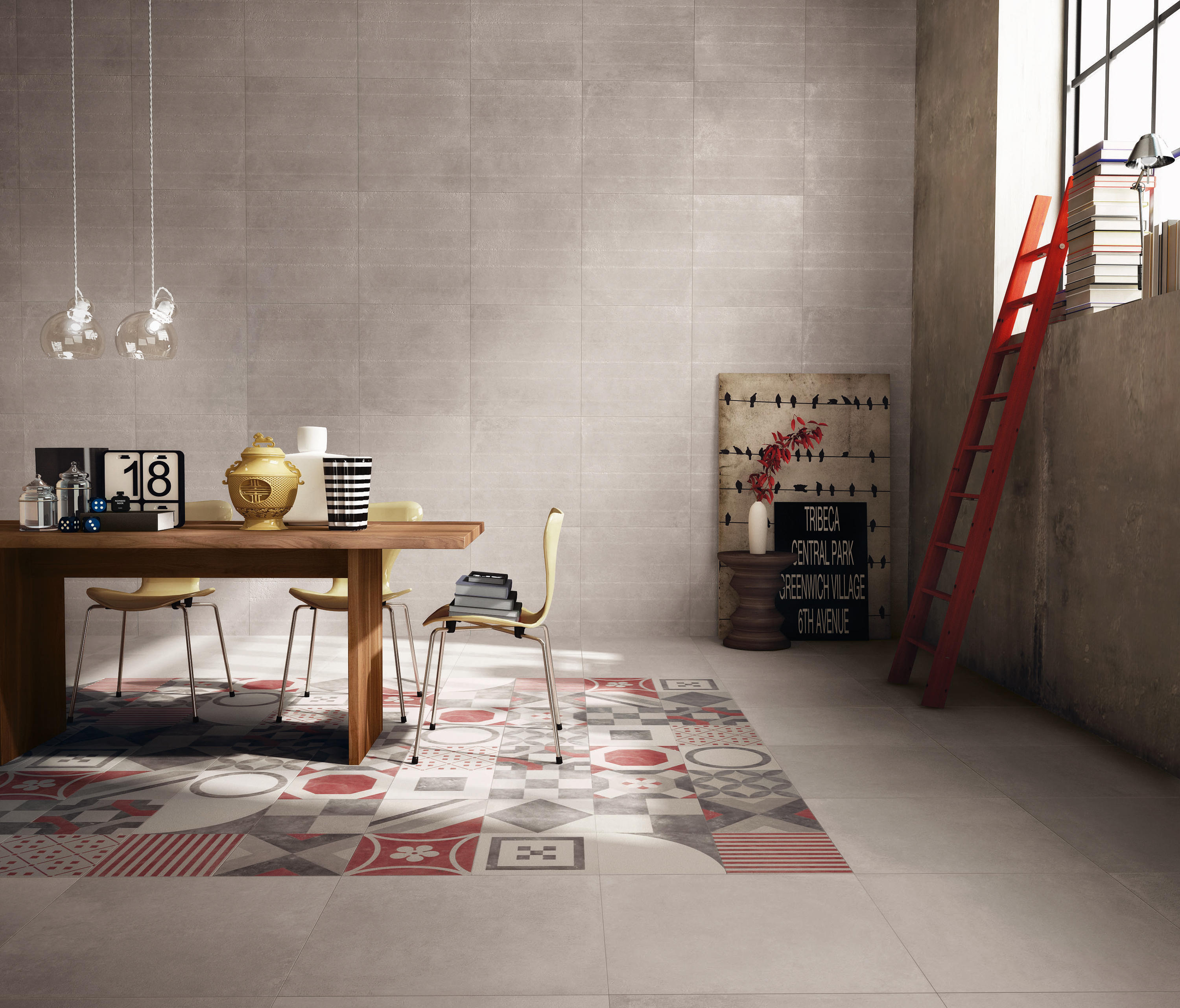 Docks Grey Ceramic Tiles From Abk Group Architonic
