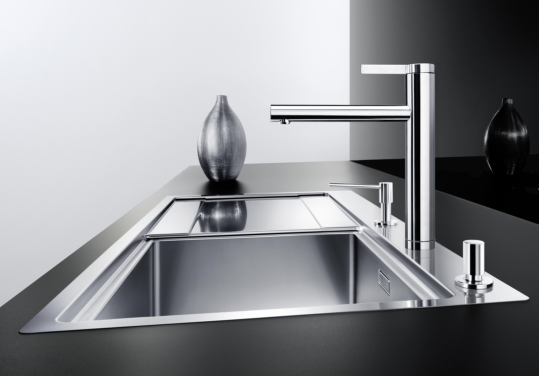 BLANCO LINEE-S   EDELSTAHL SEIDENGLANZ - Küchenarmaturen von Blanco ...