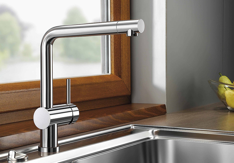 Blanco Linus blanco linus chrome kitchen taps from blanco architonic