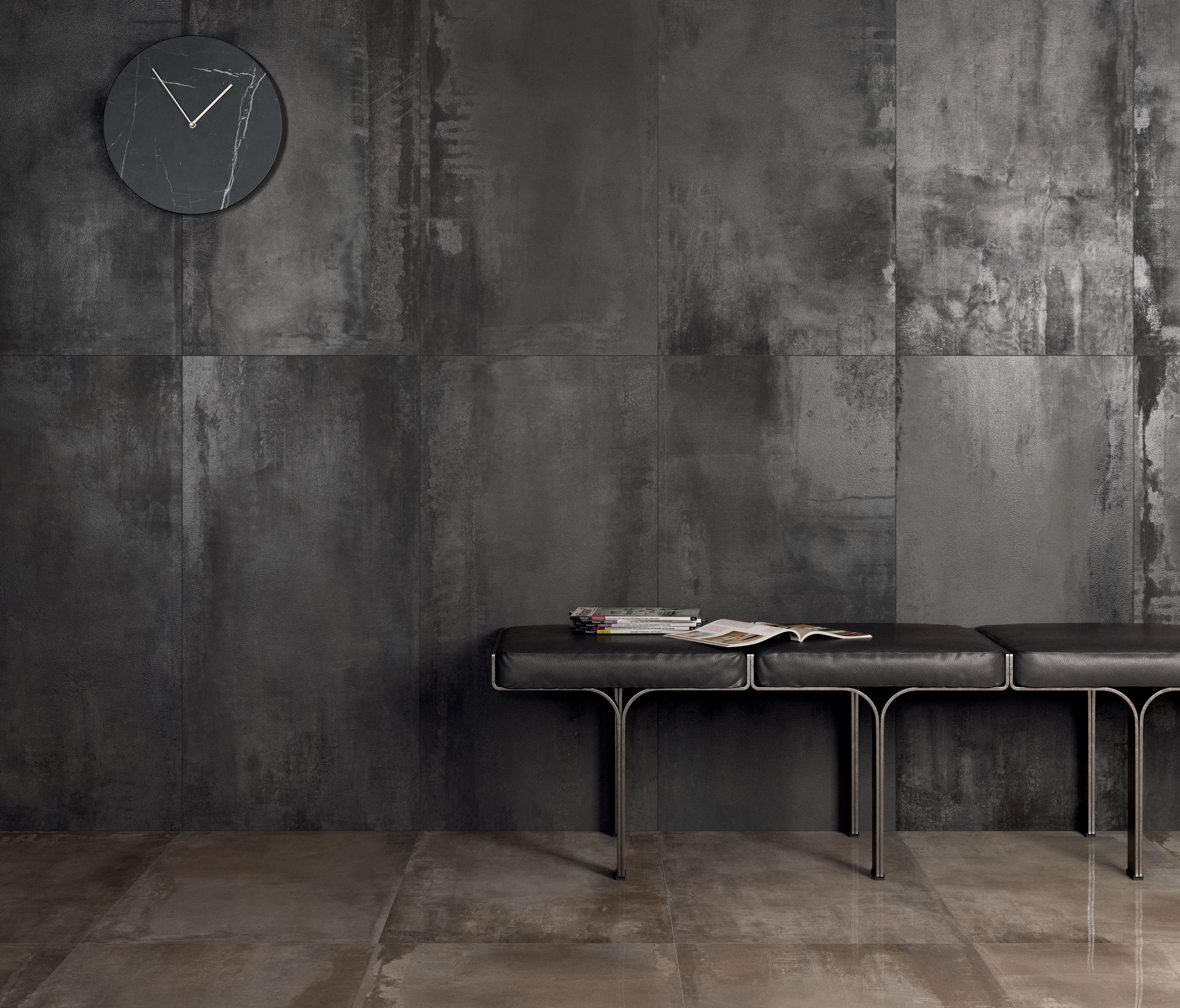 interno 9 dark ceramic tiles from abk group architonic