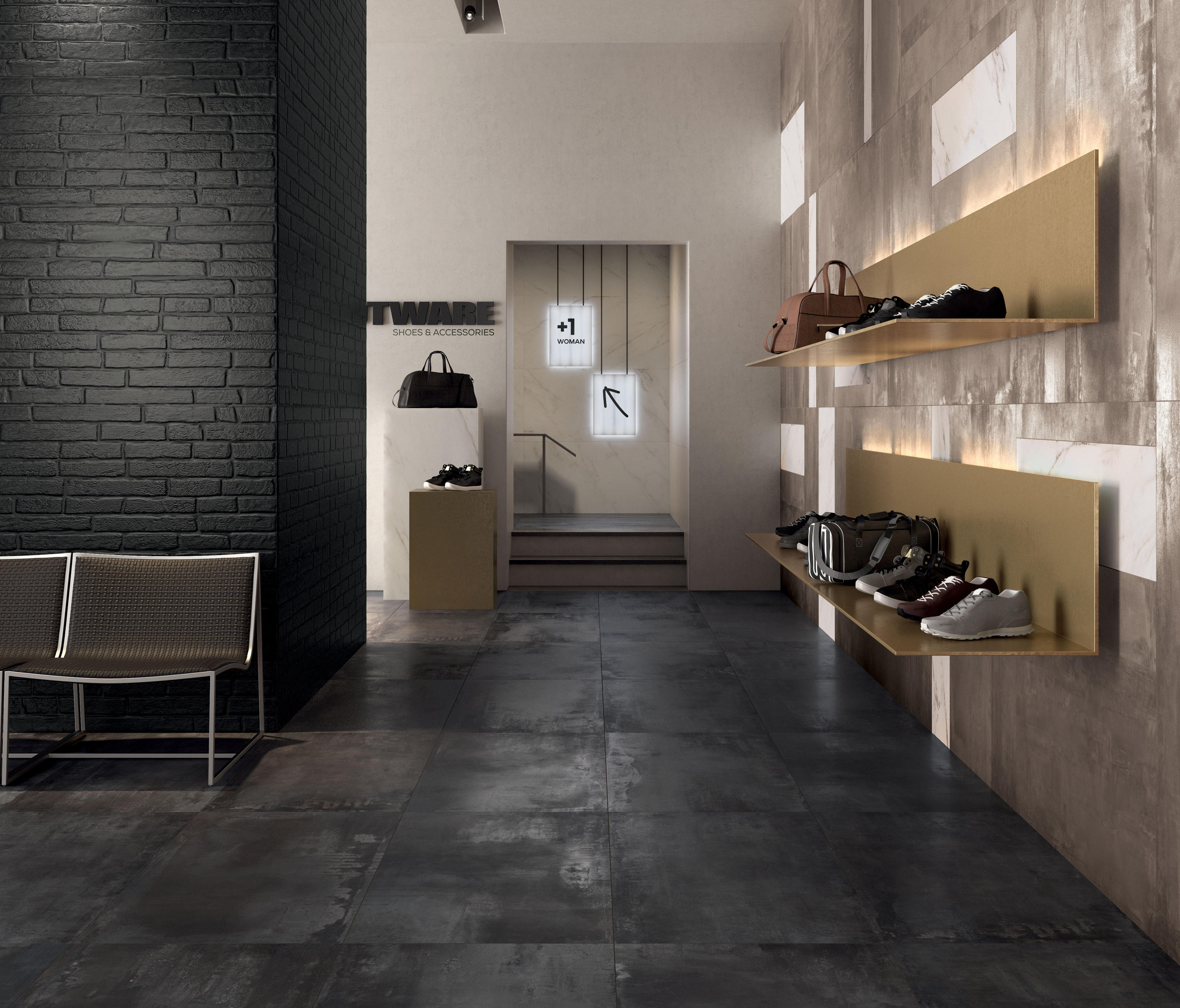 interno 9 dark tiles from abk group architonic