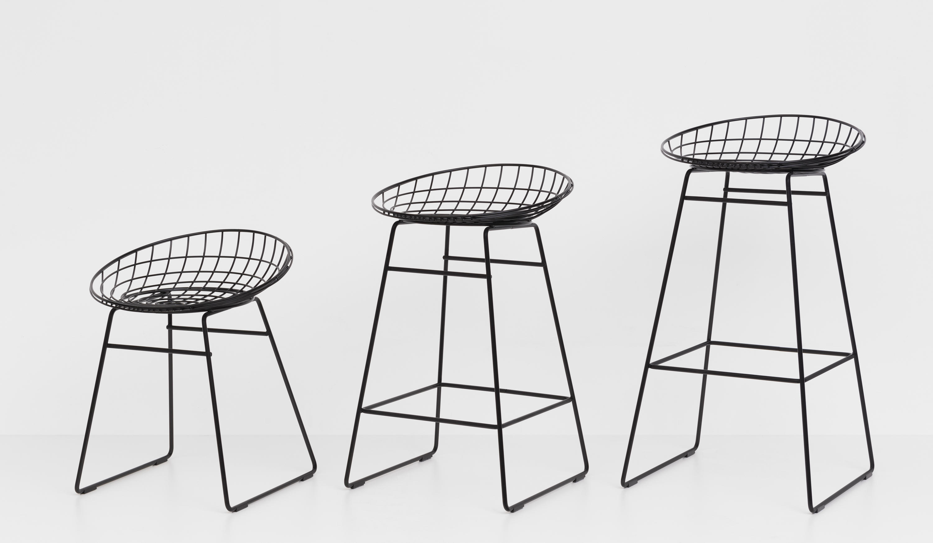 WIRE CHAIR SM05 Restaurant chairs from Pastoe