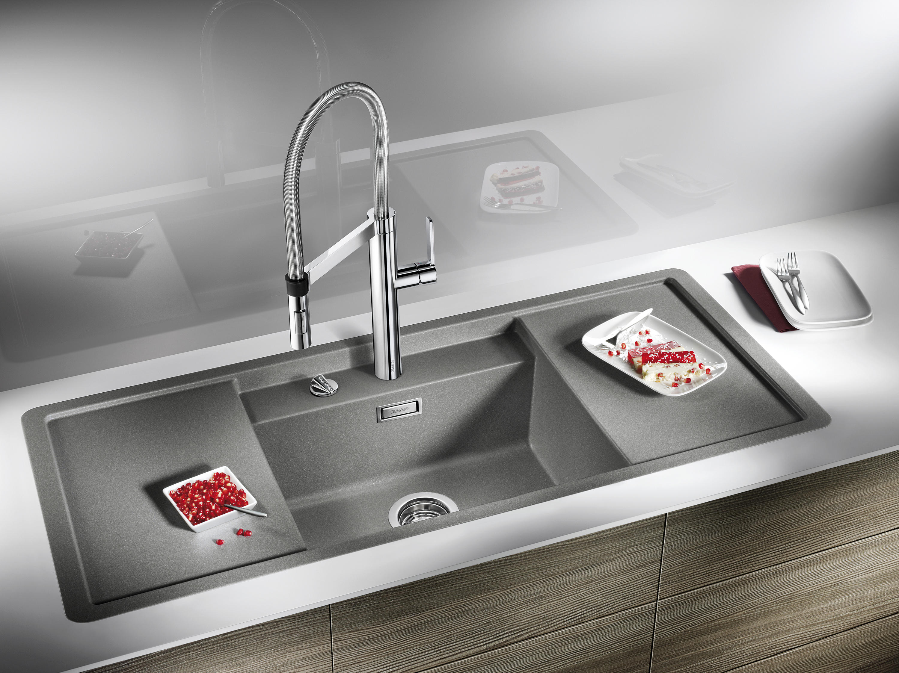 Blanco Sinks Website : BLANCO ALAROS 6 S SILGRANIT Anthracite - Kitchen sinks by Blanco ...