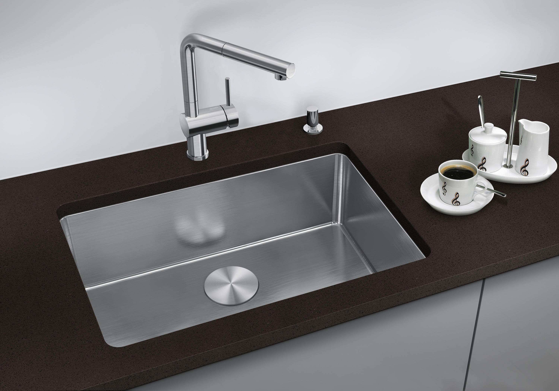 Blanco zerox 700 u stainless steel undermount sink - Ambient Images