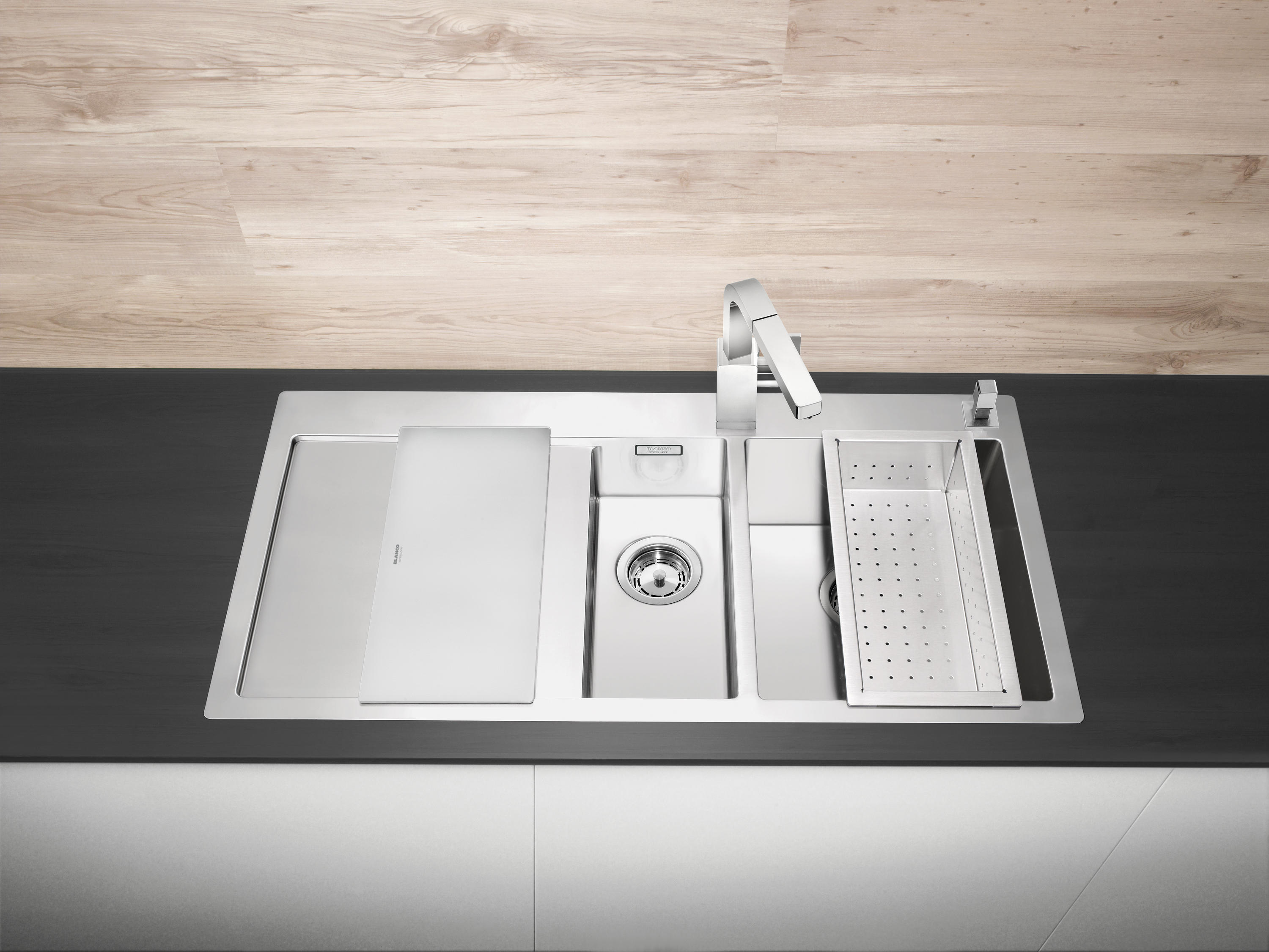 blanco claron 180 if kitchen sinks from blanco architonic. Black Bedroom Furniture Sets. Home Design Ideas