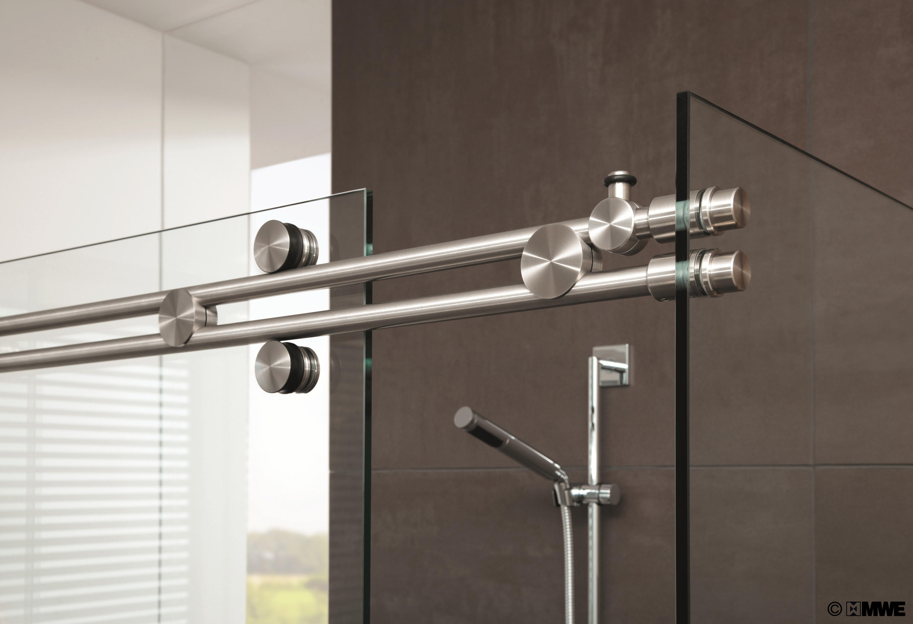 Miami Shower System Sliding Door Fittings From Mwe