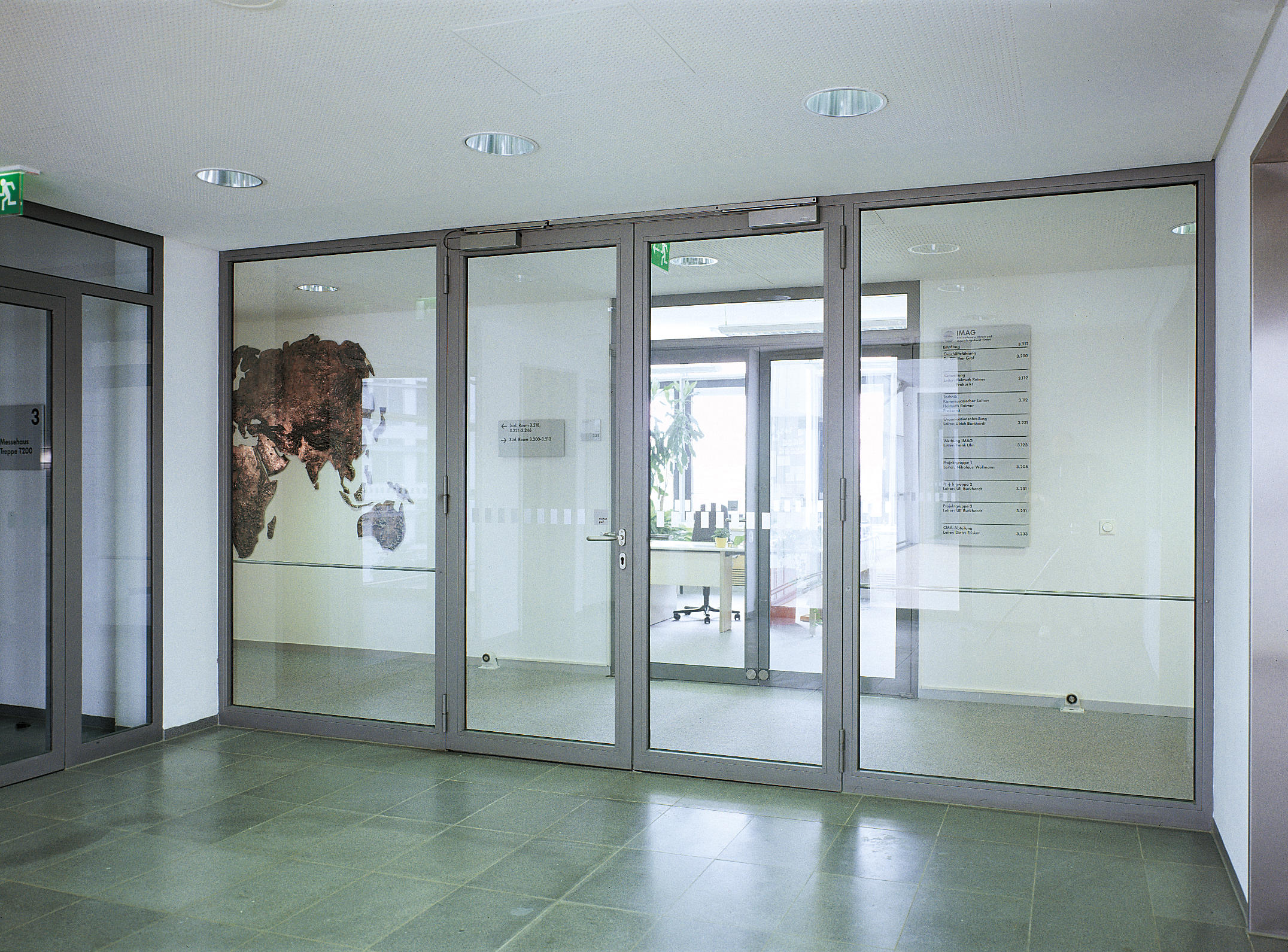 Janisol 2 Ei30 Fire Protection Door Steel And Stainless