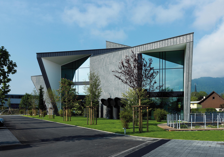 Viss tvs facade facade constructions from jansen for Office building exterior design