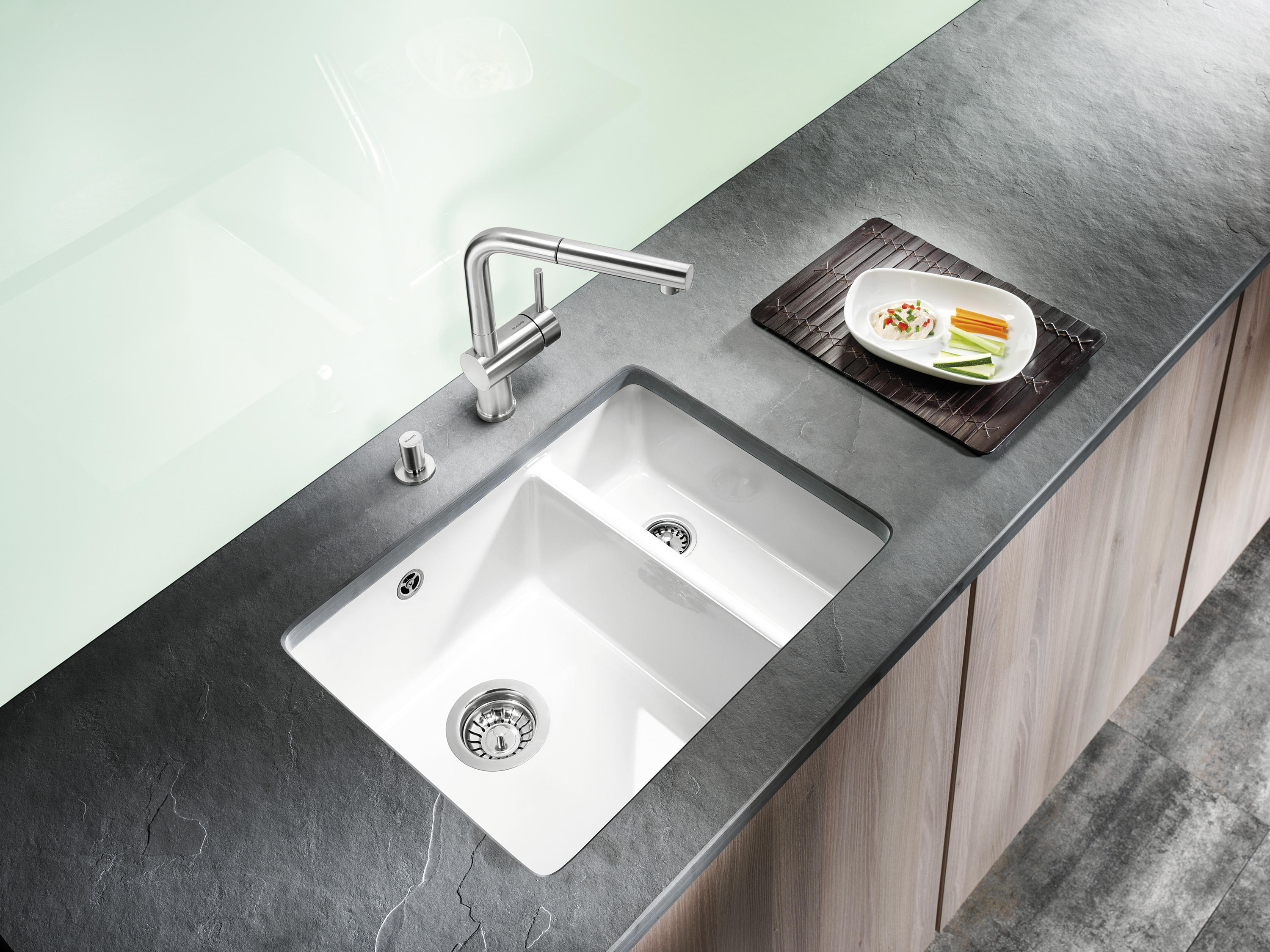 Blanco Subline 700 U Level Undermount Silgranit Kitchen