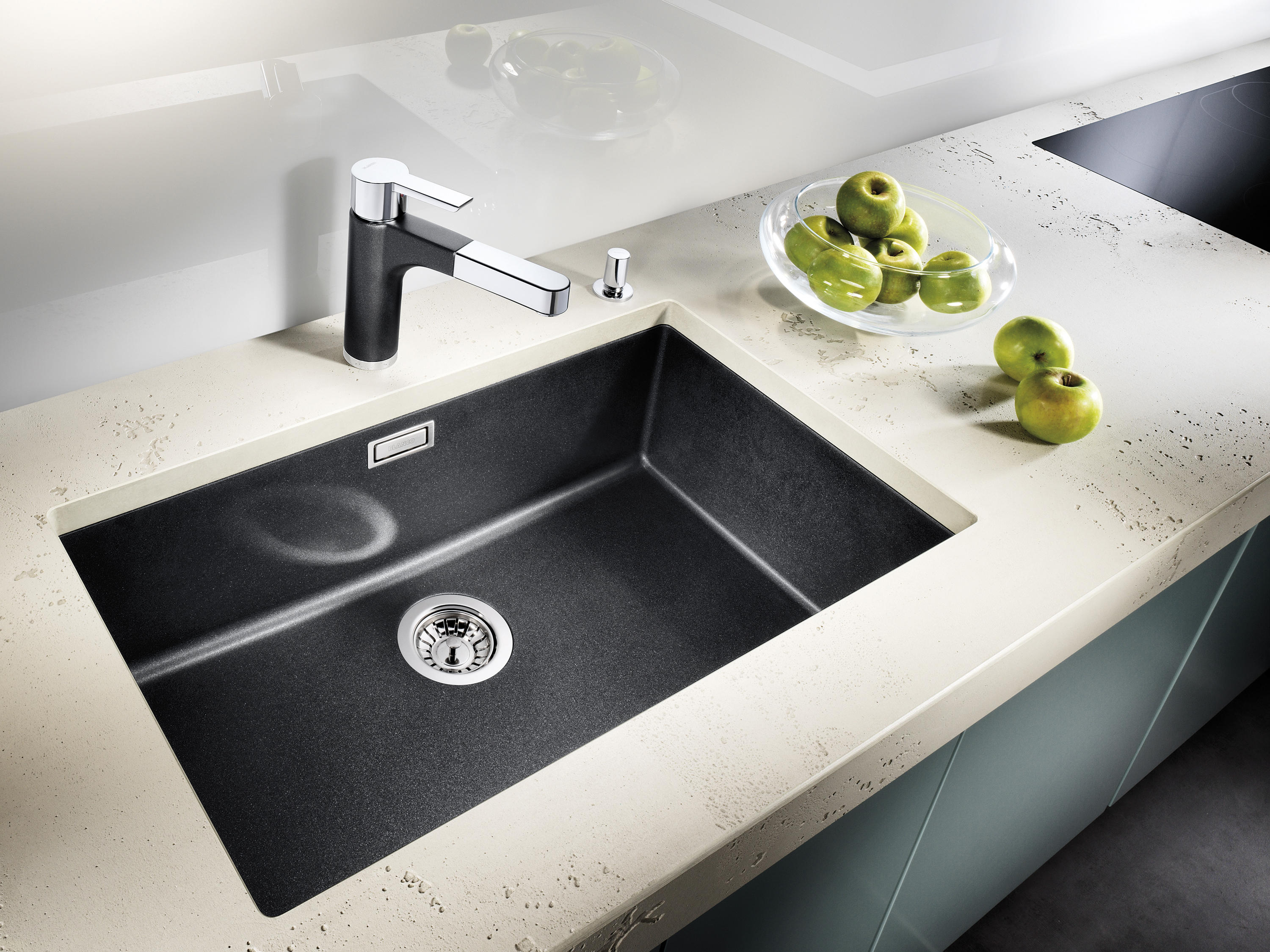 ... BLANCO SUBLINE 160 U | SILGRANIT Anthracite By Blanco