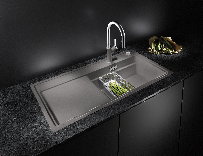 blanco zenar 45 s silgranit anthracite viers de. Black Bedroom Furniture Sets. Home Design Ideas