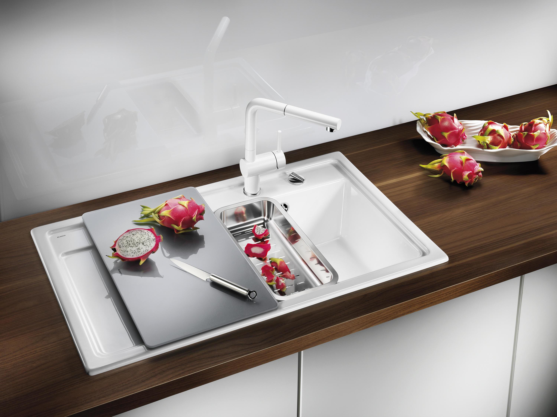 Blanco Zenar Xl 6 S Ceramic Black Kitchen Sinks From