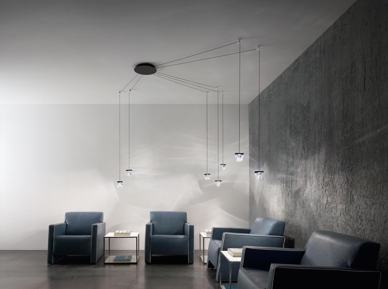 Tripla f41 a01 11 allgemeinbeleuchtung von fabbian for Design industriale