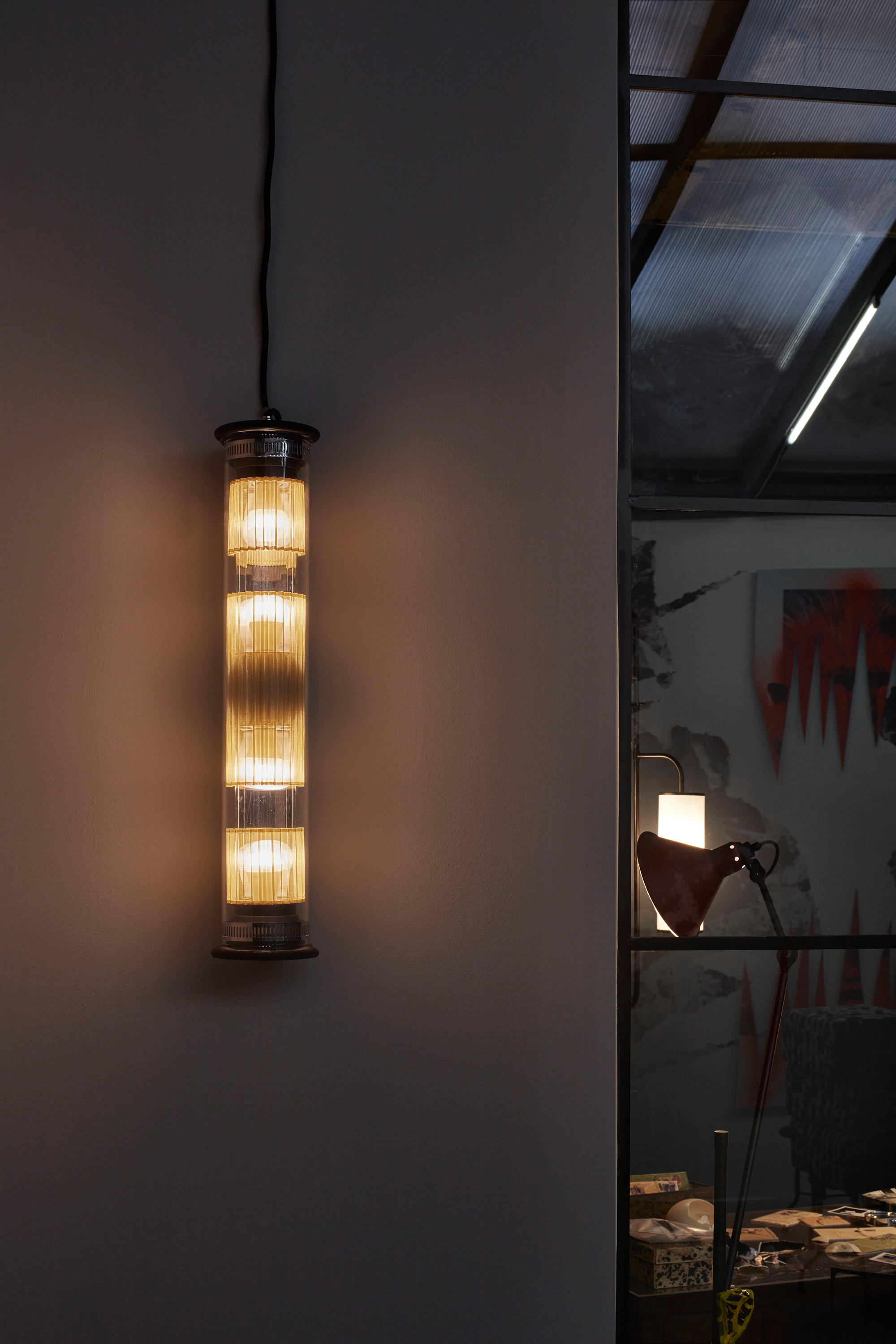 In The Tube 100 350 Gold Wall Lights From Dcw Editions Architonic
