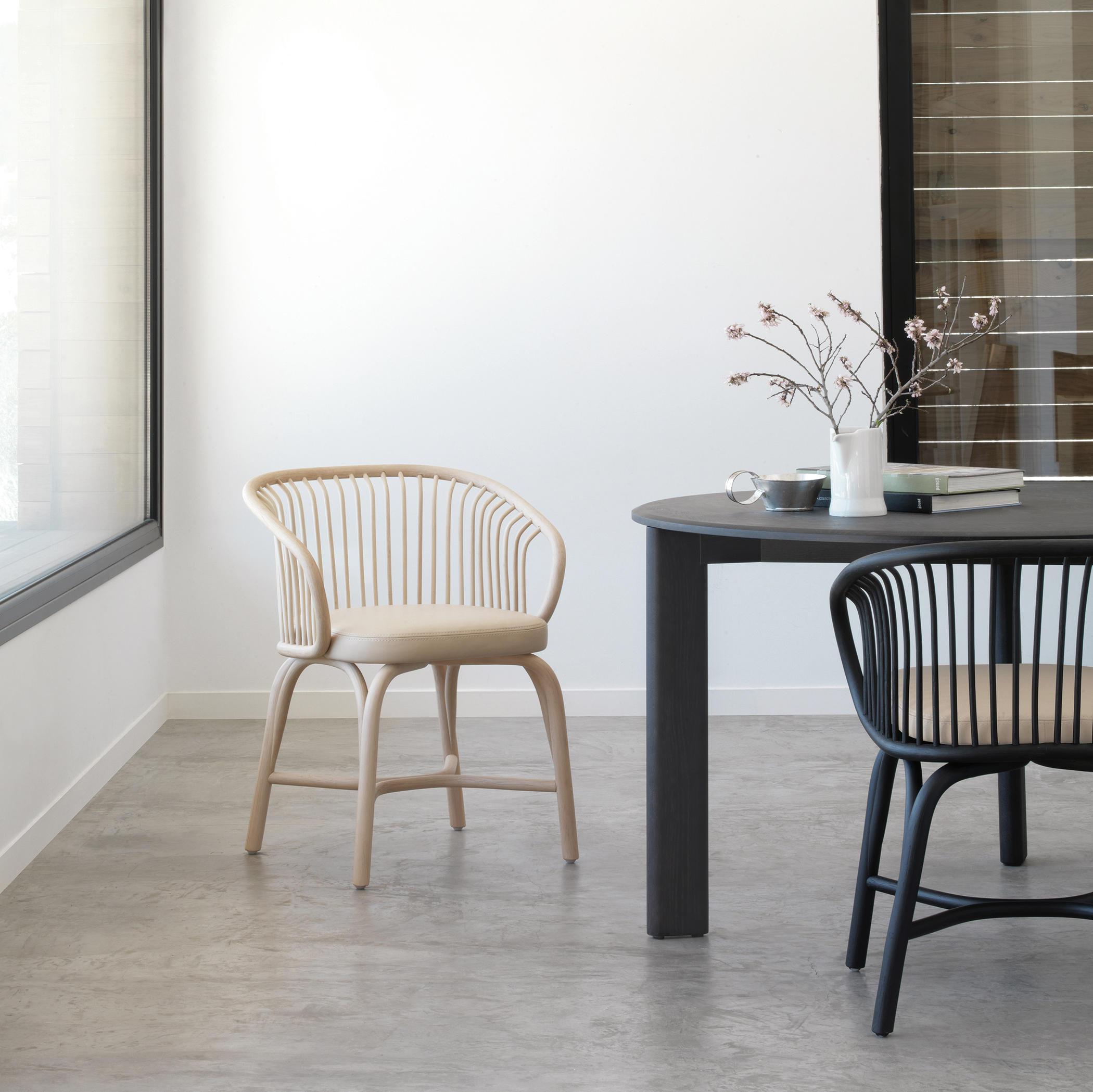 Huma sill n comedor sillas de expormim architonic for Silla sillon comedor