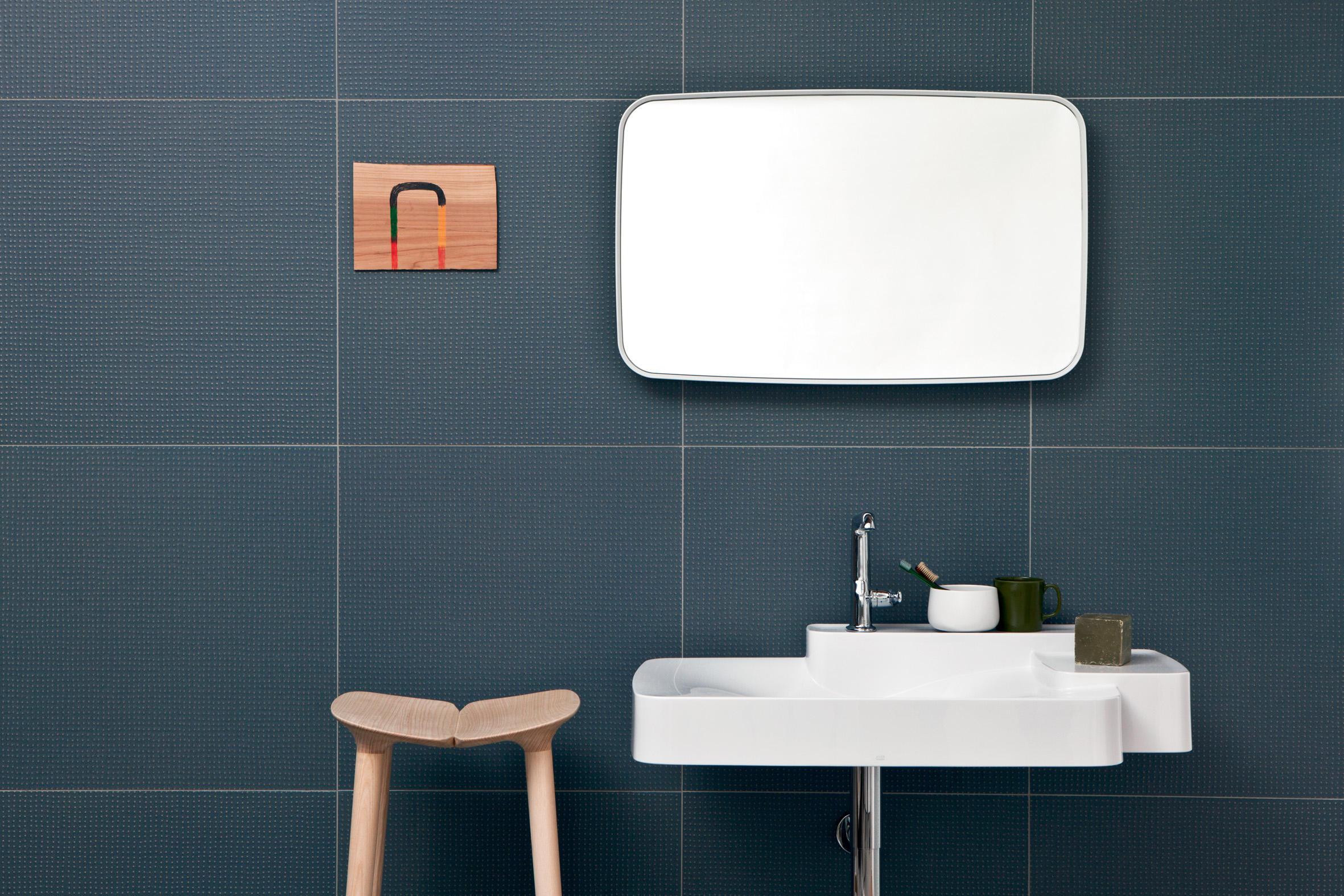 PICO UP ANTRACITE BLUE DOTS - Ceramic panels from Ceramiche Mutina  Architonic