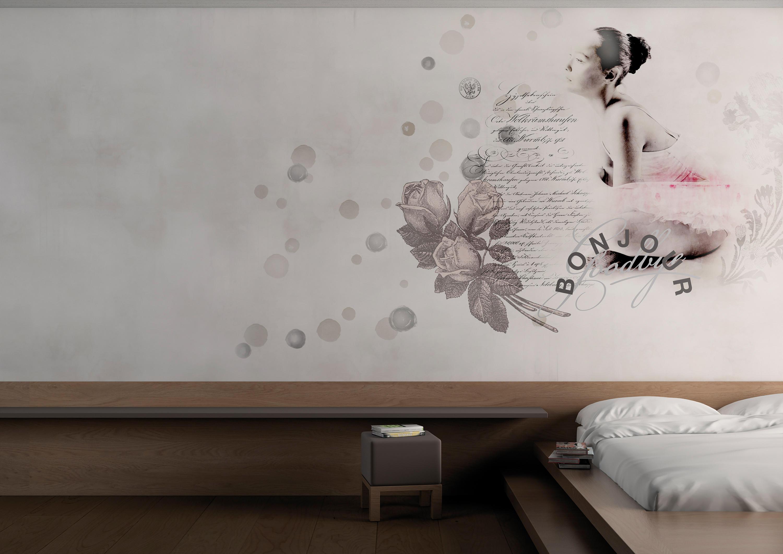 Glamora Carta Da Parati.Donna Parole Bespoke Wall Coverings From Glamora Architonic