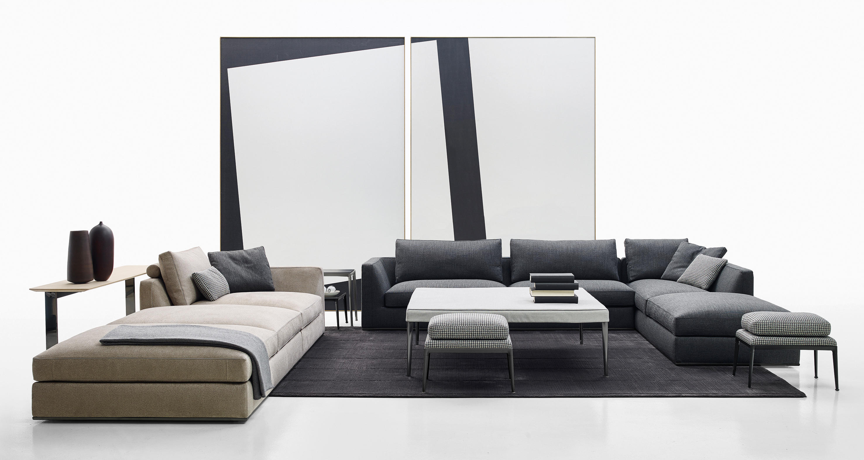 Richard sofa sofas from b b italia architonic for B b couch