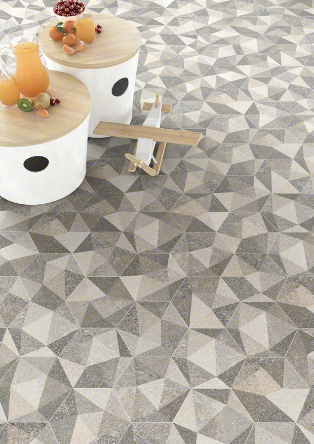 hexagono luton multicolor floor tiles from vives