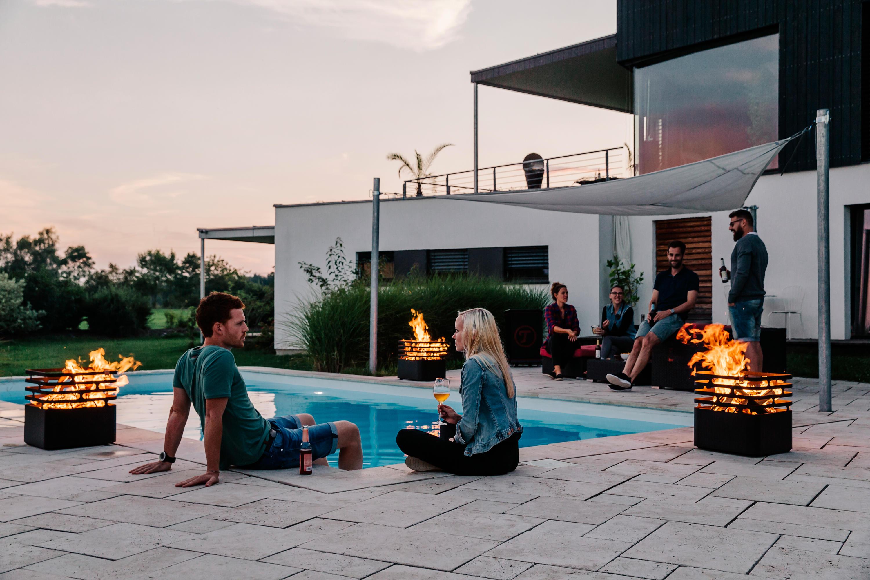 Outdoor Küche Cube : Cube feuerkörbe von höfats architonic