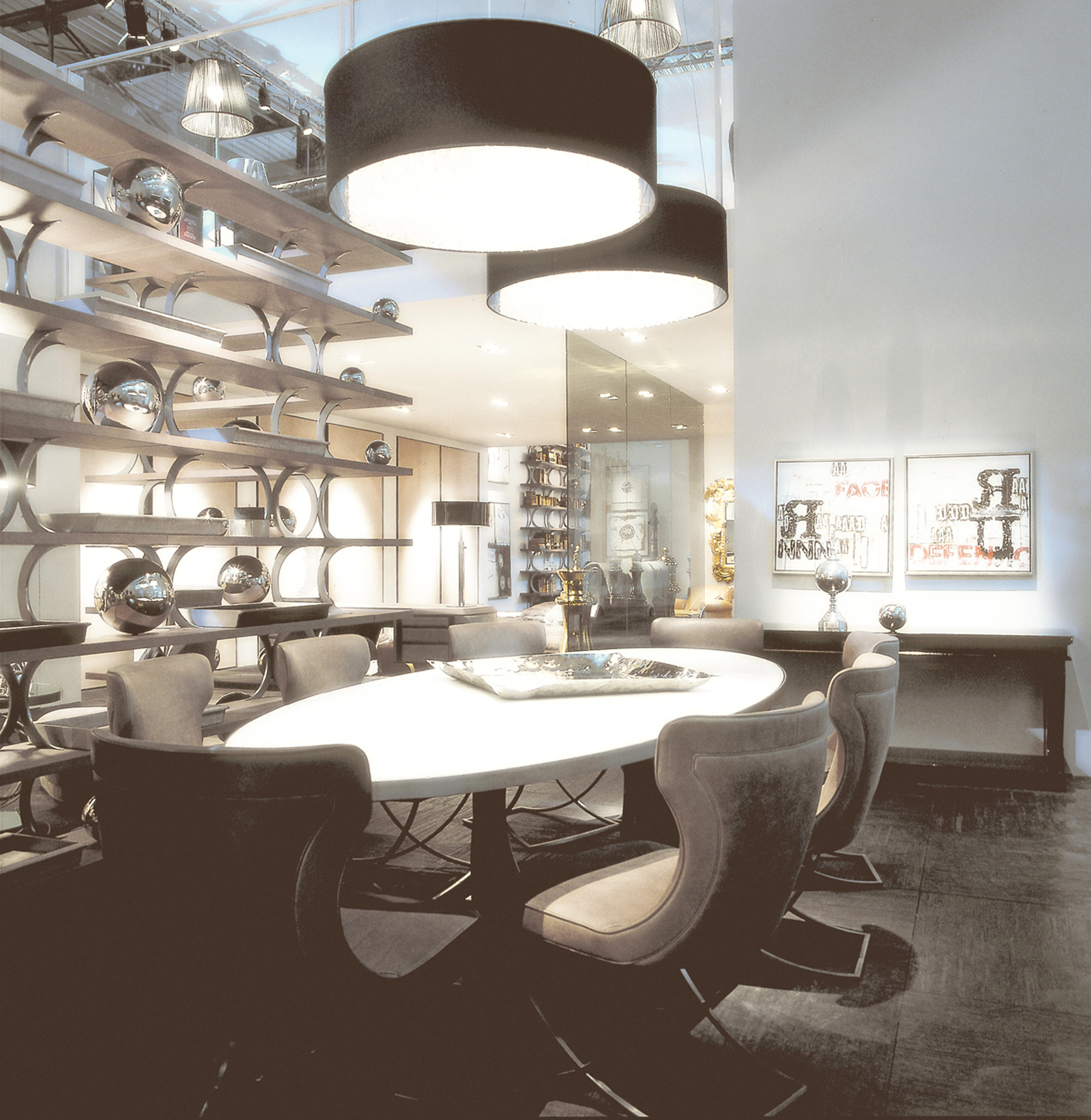 Gilbert Table Dining Tables From Baxter Architonic