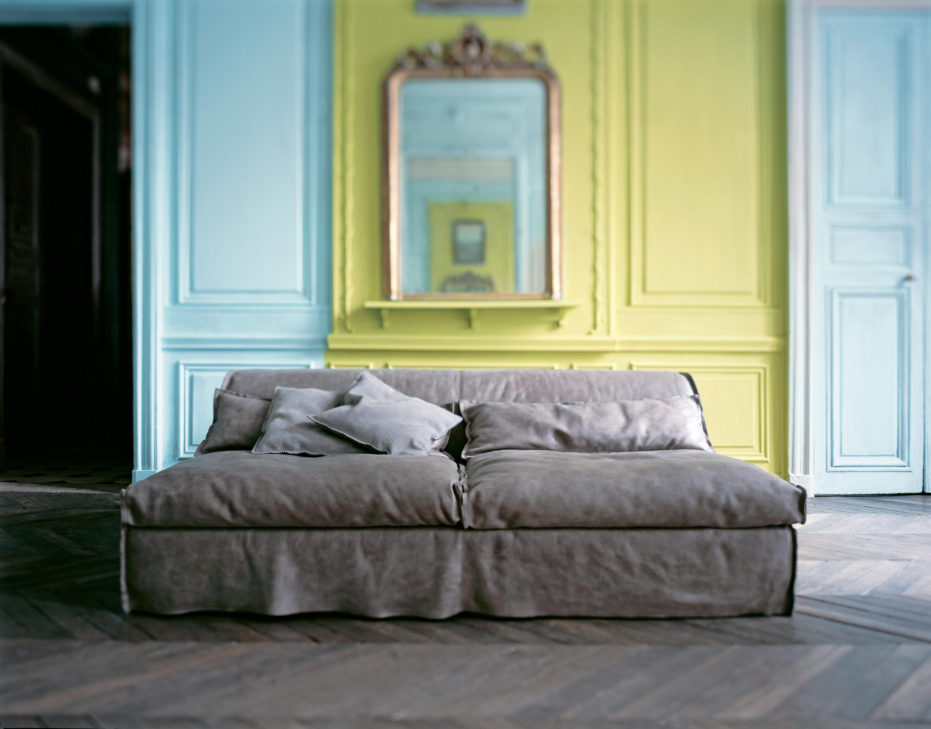 Housse Ottoman Pouf Poufs From Baxter Architonic