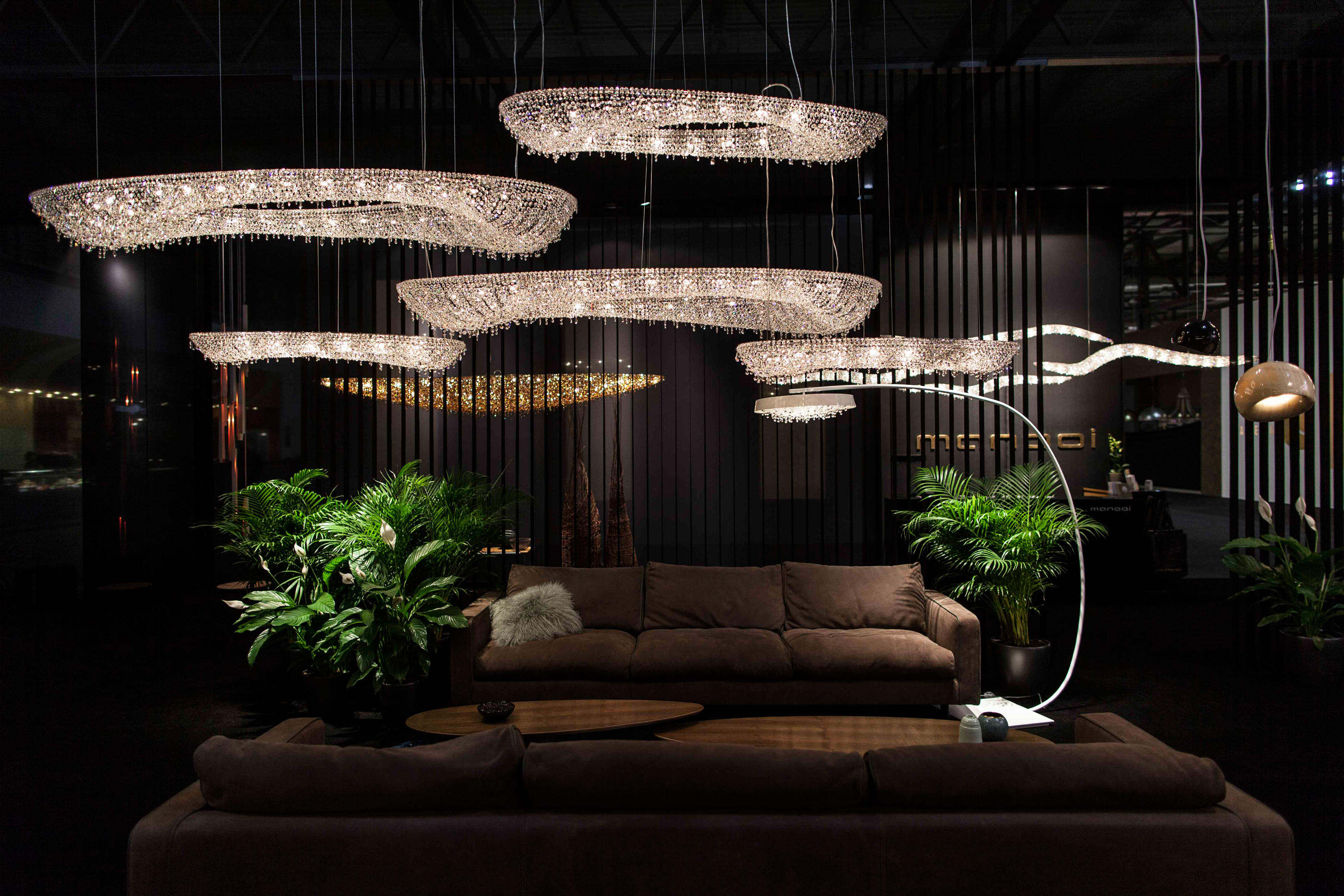 ARTICA Ceiling suspended chandeliers from Manooi Architonic