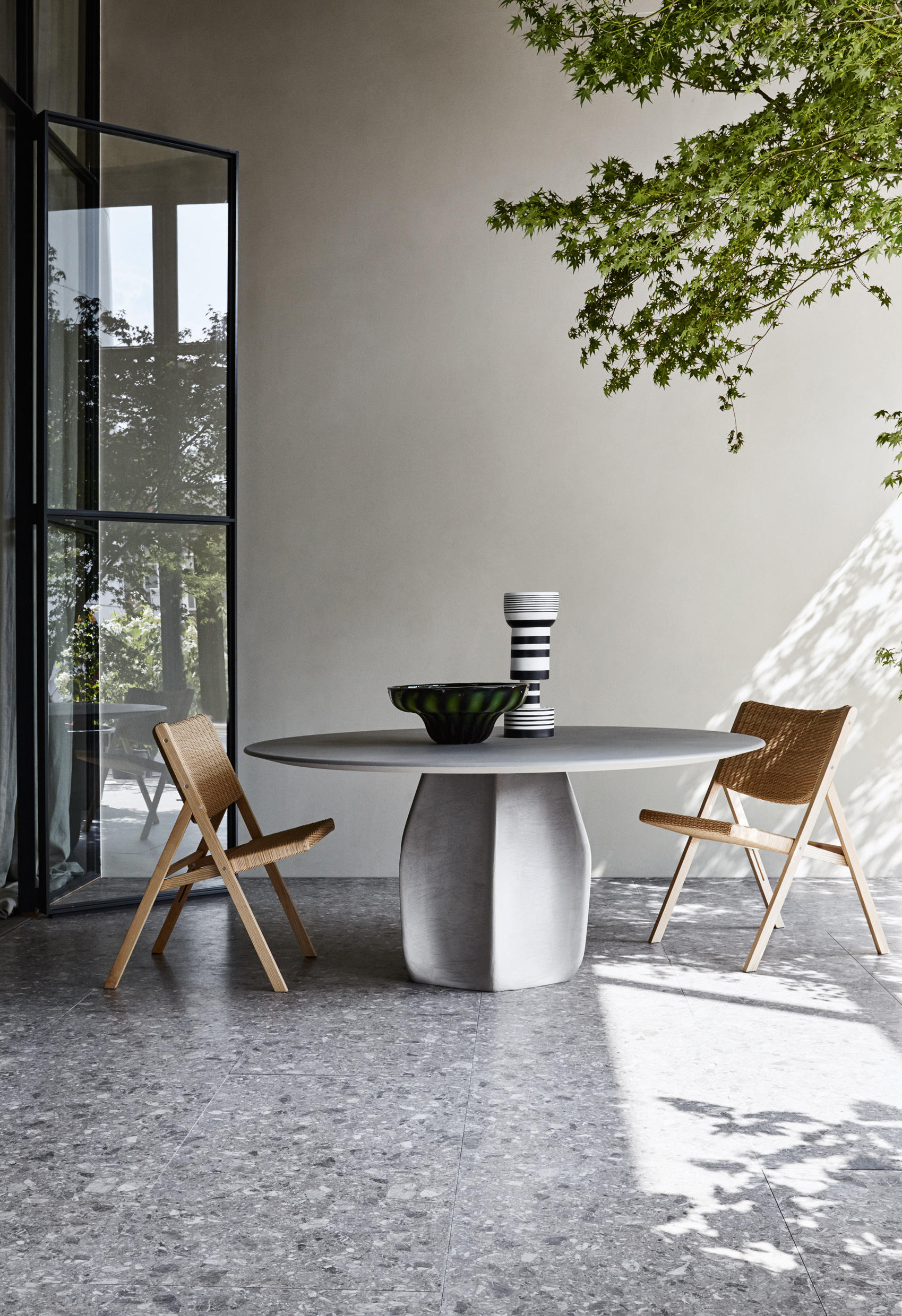 Grey Wooden Table